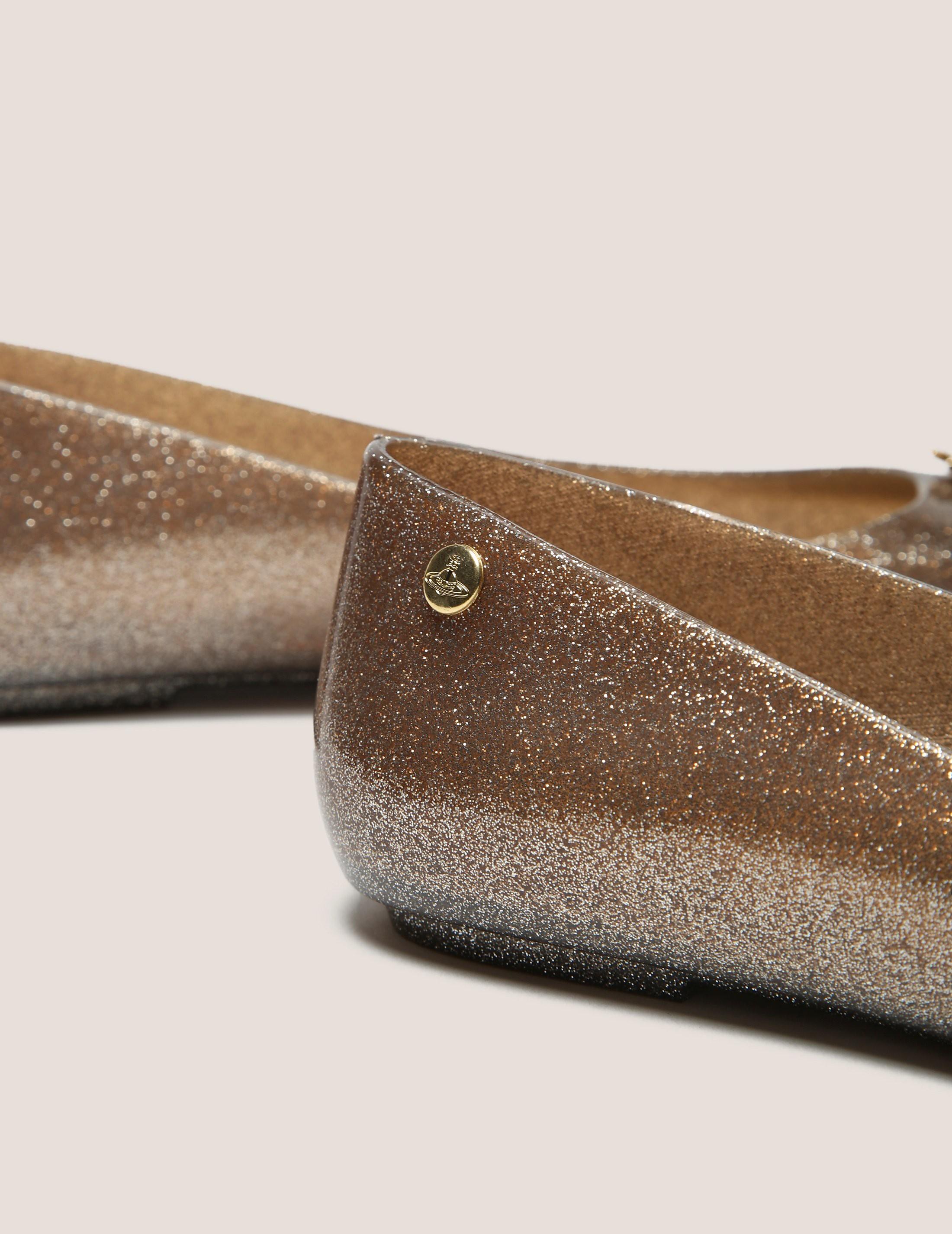 Melissa X Vivienne Westwood Orb Glitter Shoe