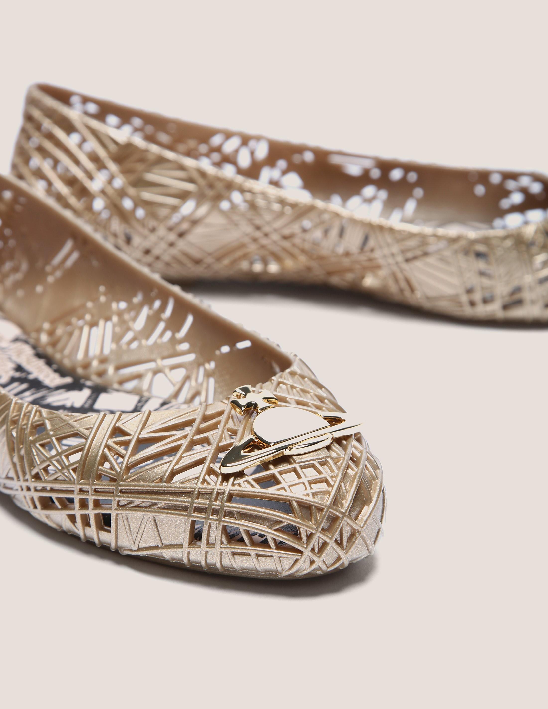 Melissa X Vivienne Westwood Orb Scribble Shoe