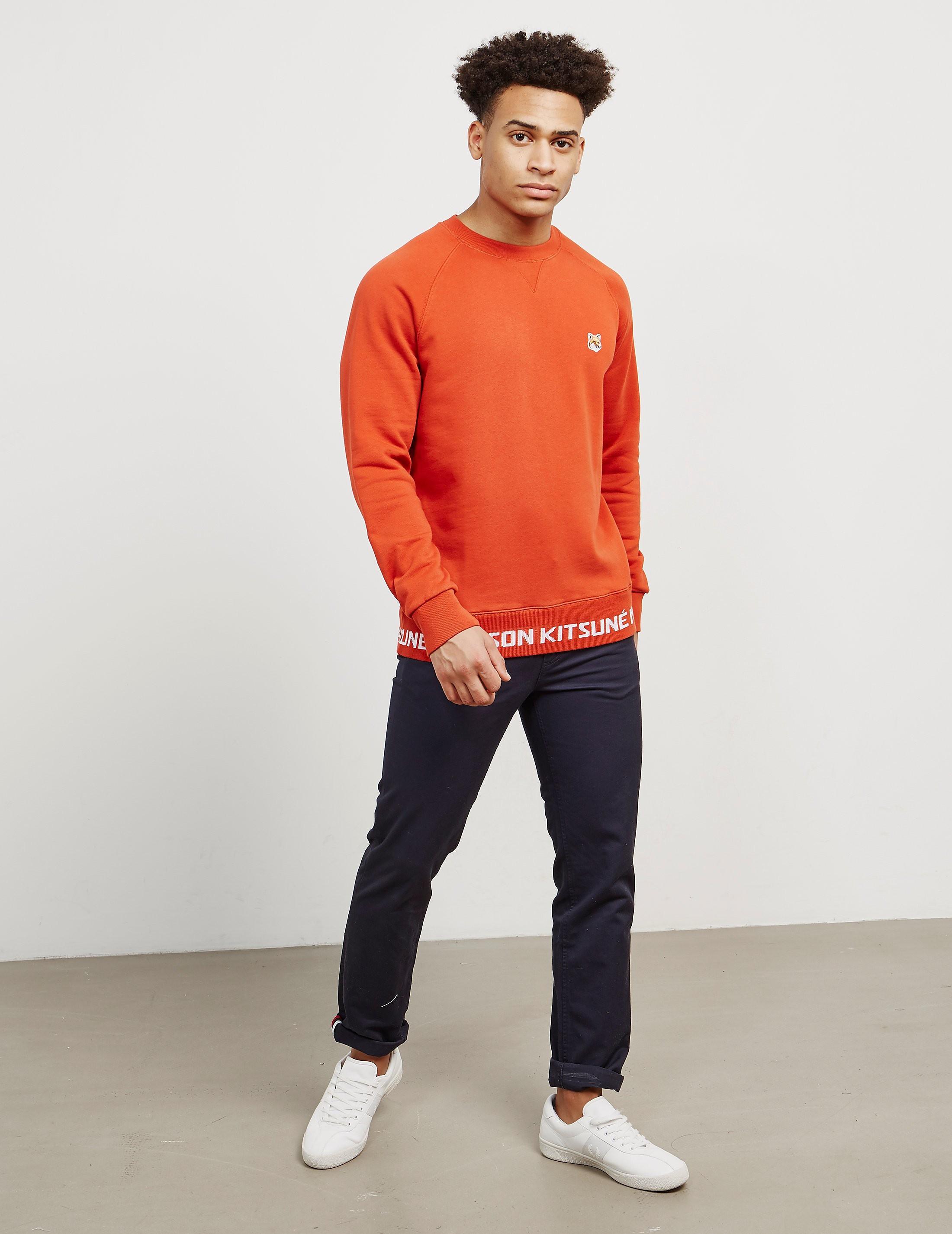 Maison Kitsune Fox Band Sweatshirt