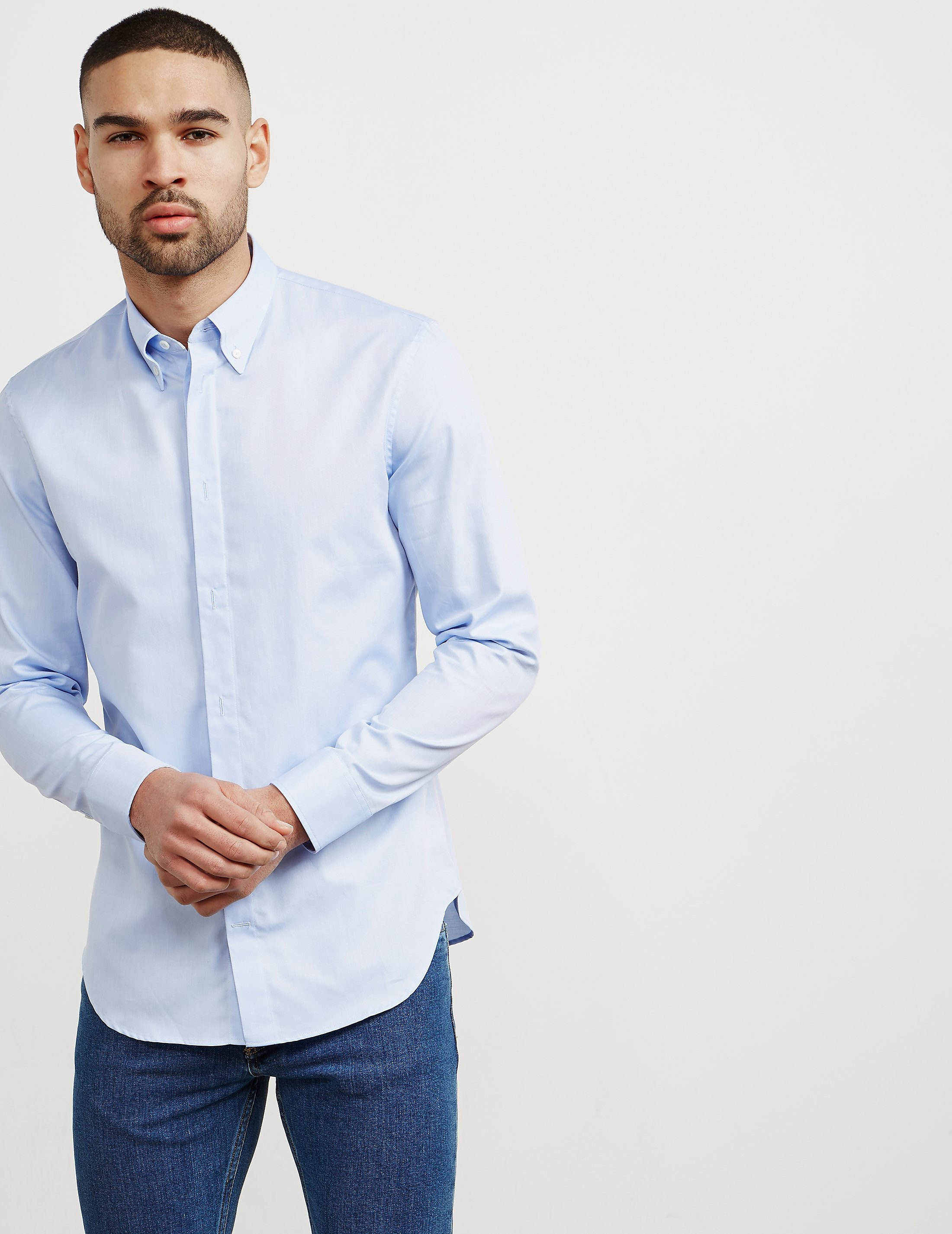 Maison Margiela Oxford Long Sleeve Shirt