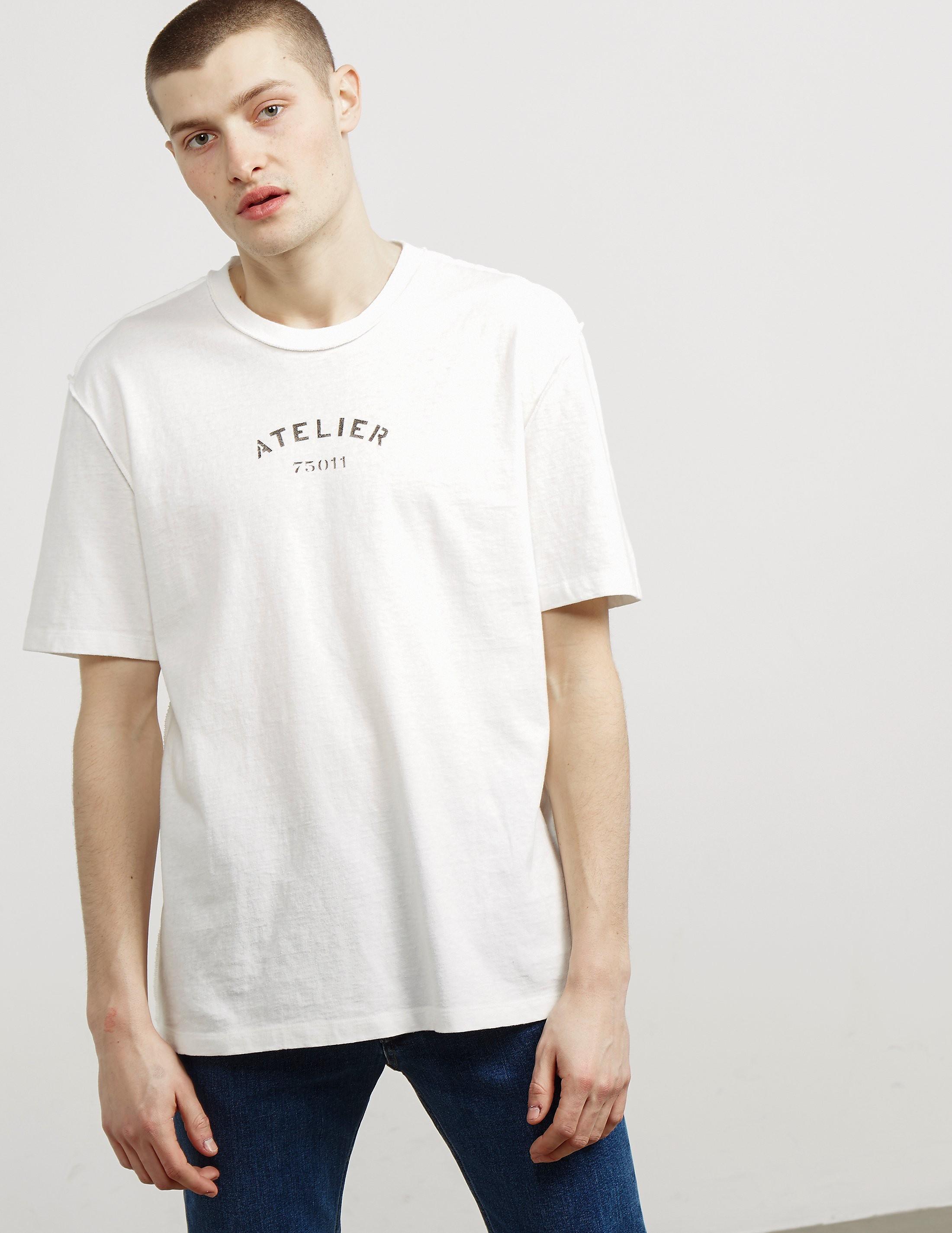 Maison Margiela Atelier Short Sleeve T-Shirt - Online Exclusive