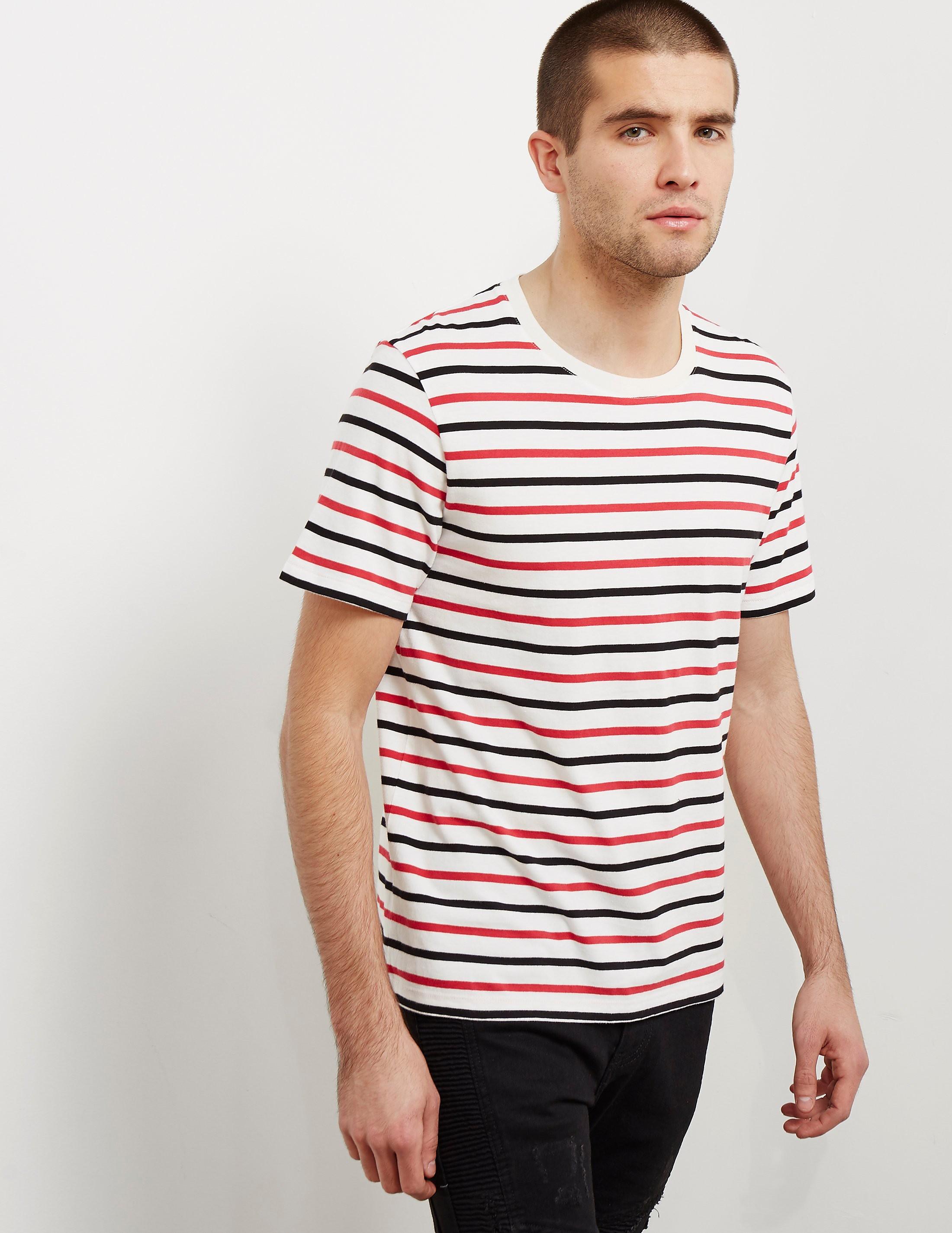 Maison Margiela 3-Pack Stripe Short Sleeve T-Shirt