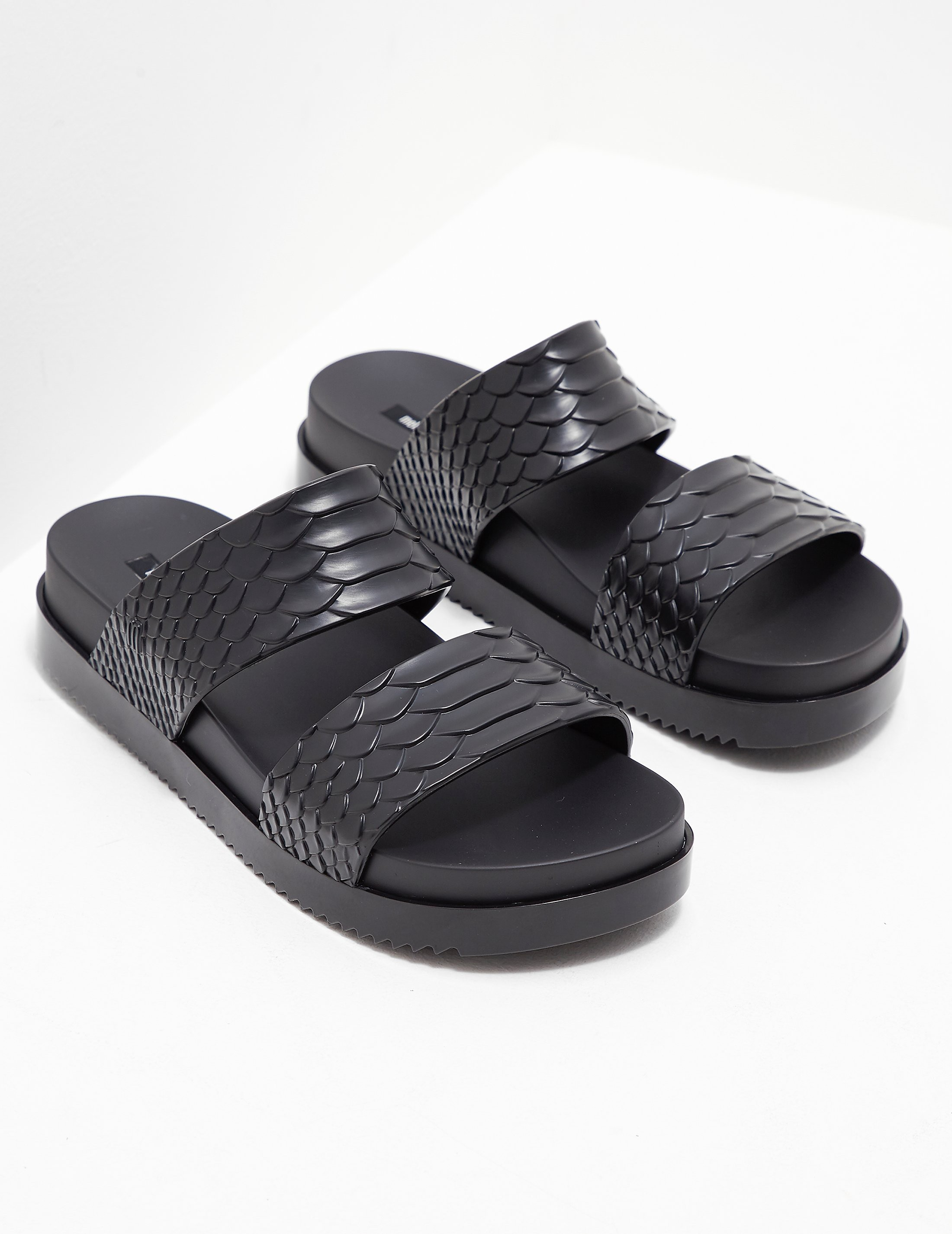 Melissa x Baja East Python Slides - Online Exclusive