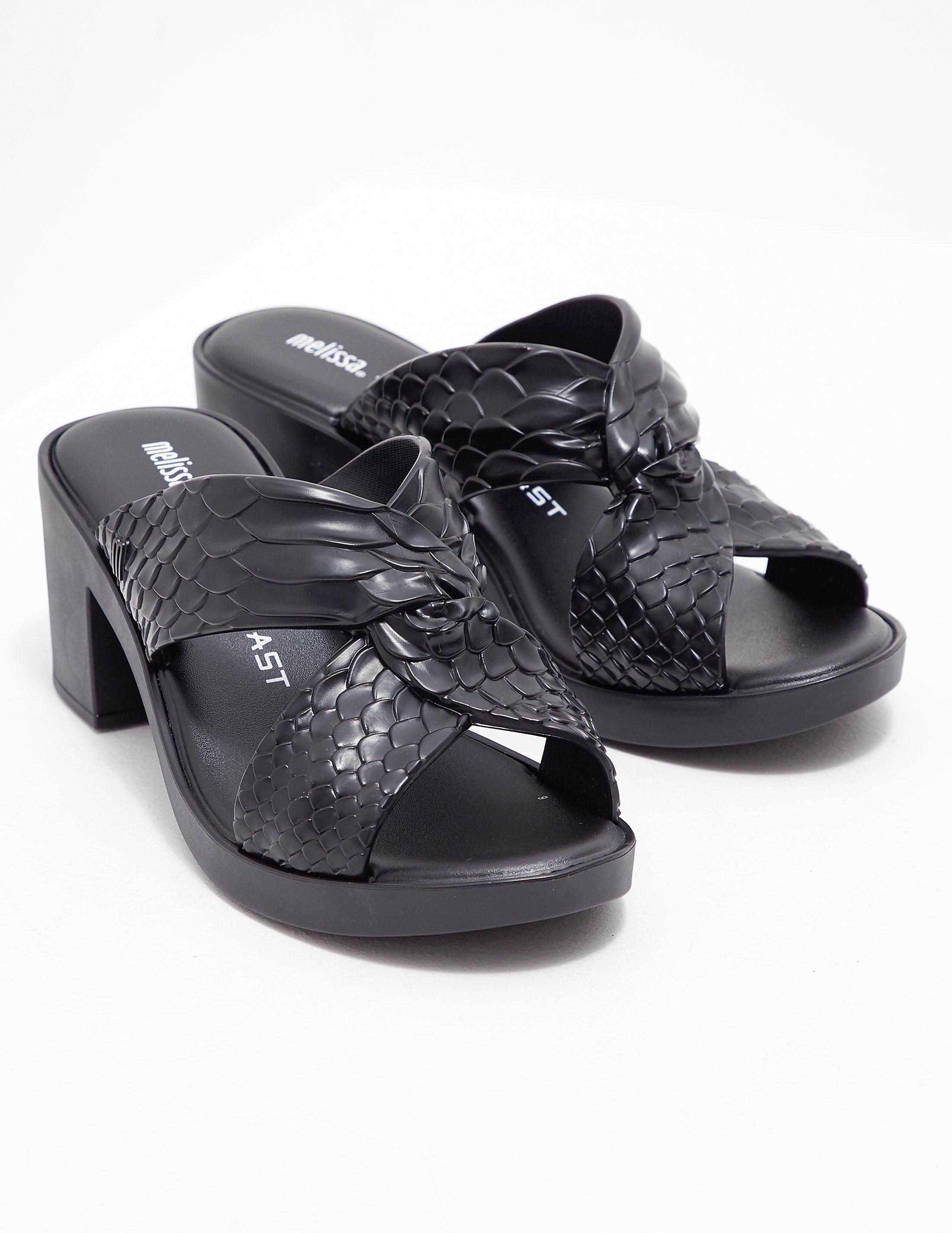 Melissa Baja Python Heels