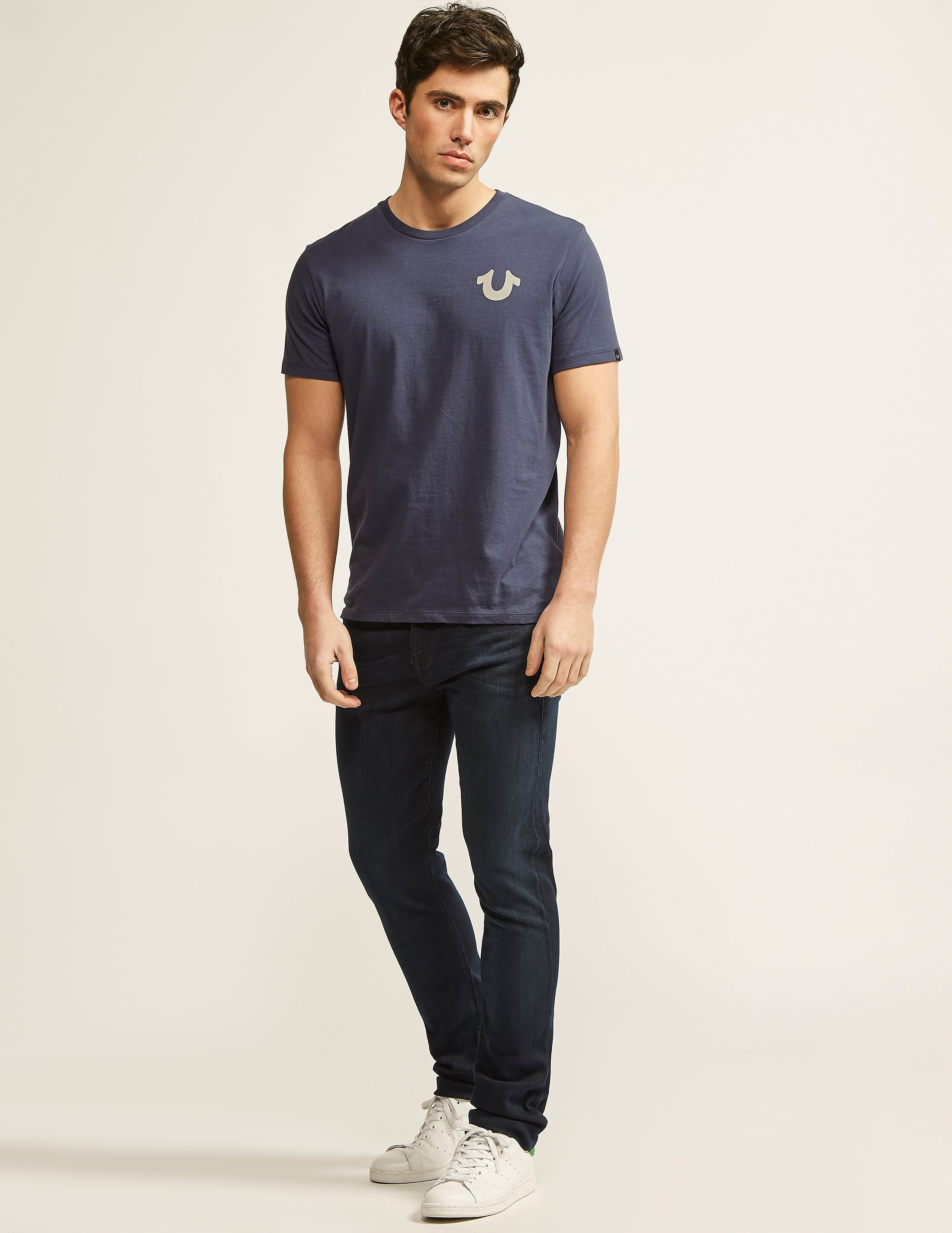 True Religion Crafted With Pride Crew Neck T-Shirt