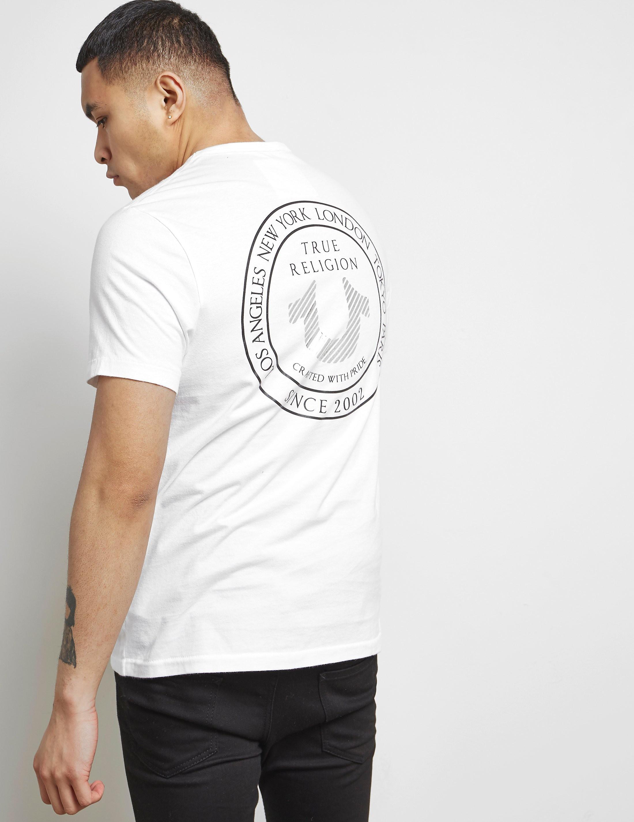 True Religion Back Badge Short Sleeve T-Shirt
