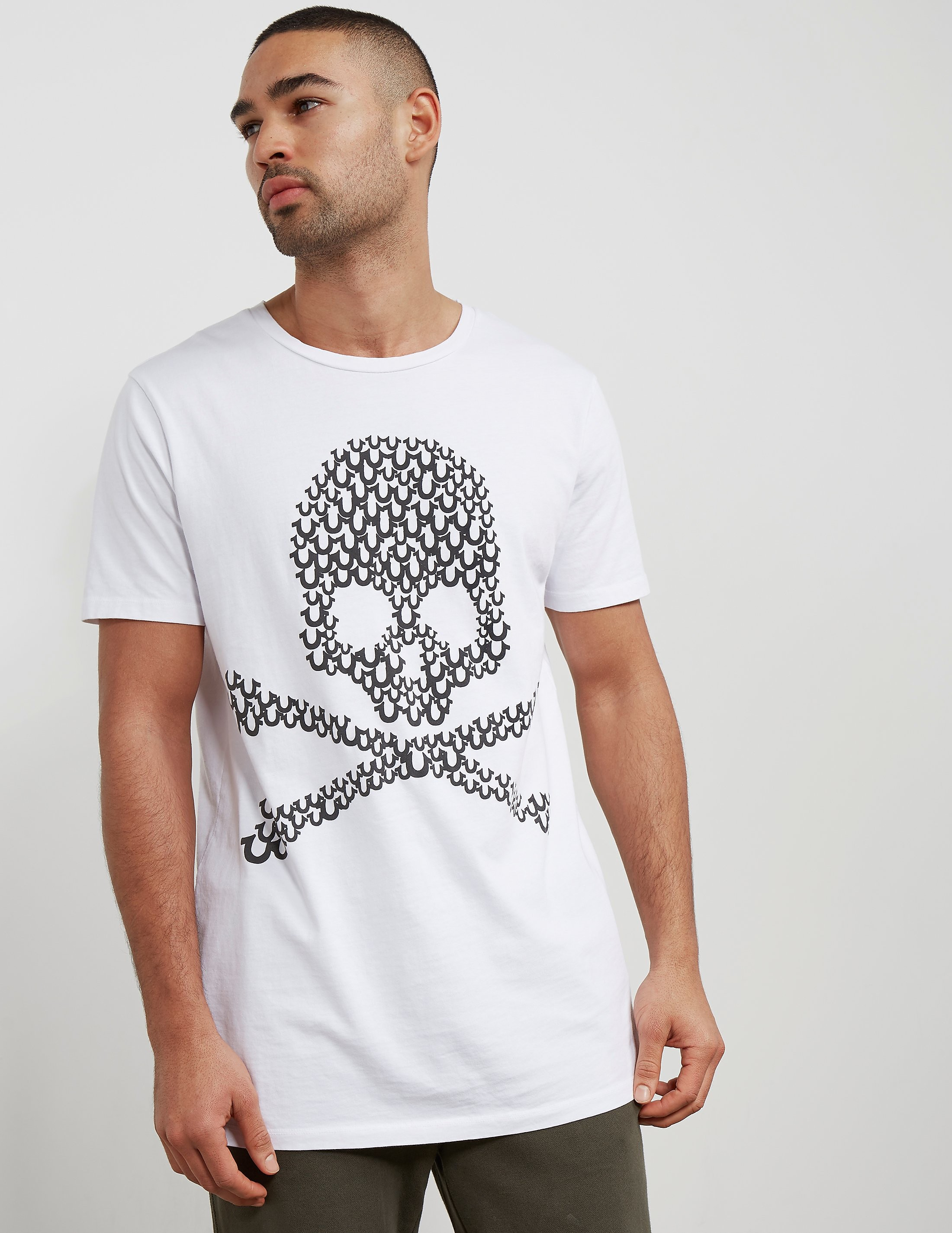 True Religion Shoe Skull Short Sleeve T-Shirt