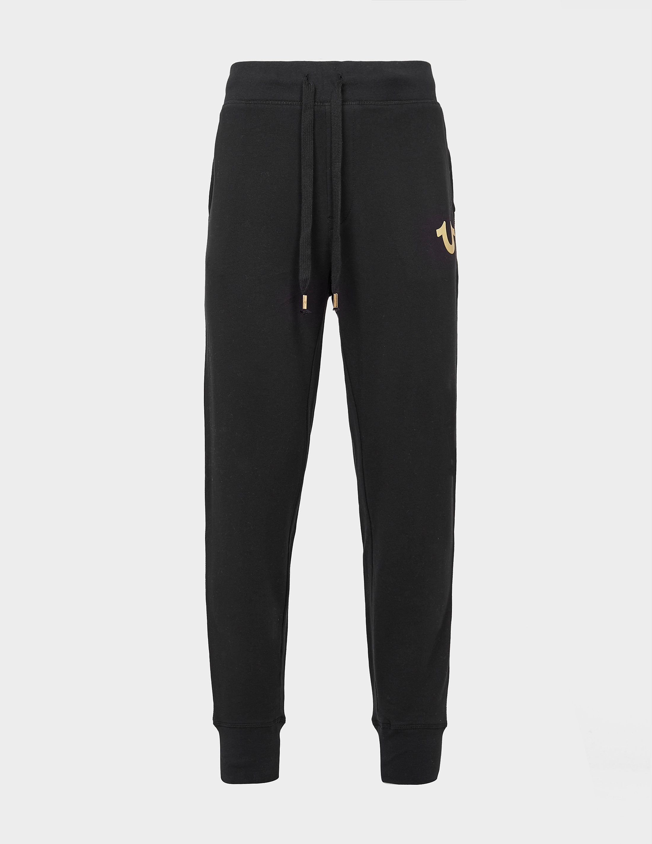True Religion Gold Puff Cuff Track Pants