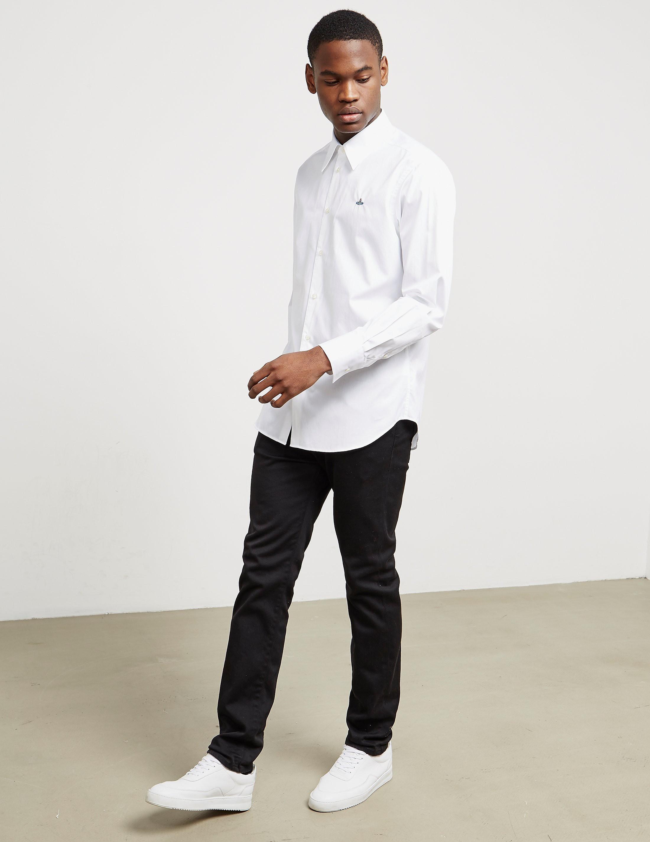 Vivienne Westwood Long Sleeve Poplin Shirt