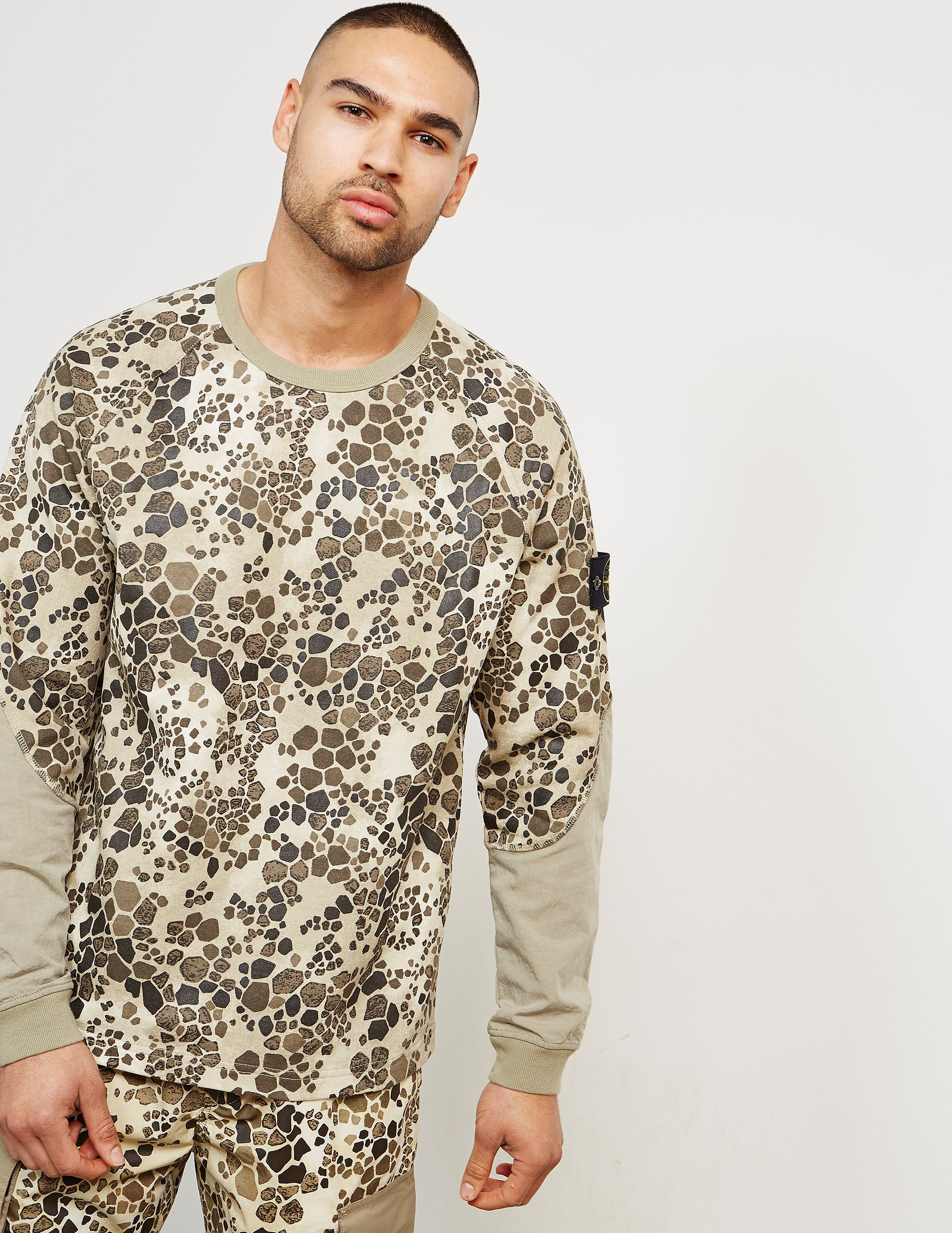 Stone Island Alligator Camo Sweatshirt