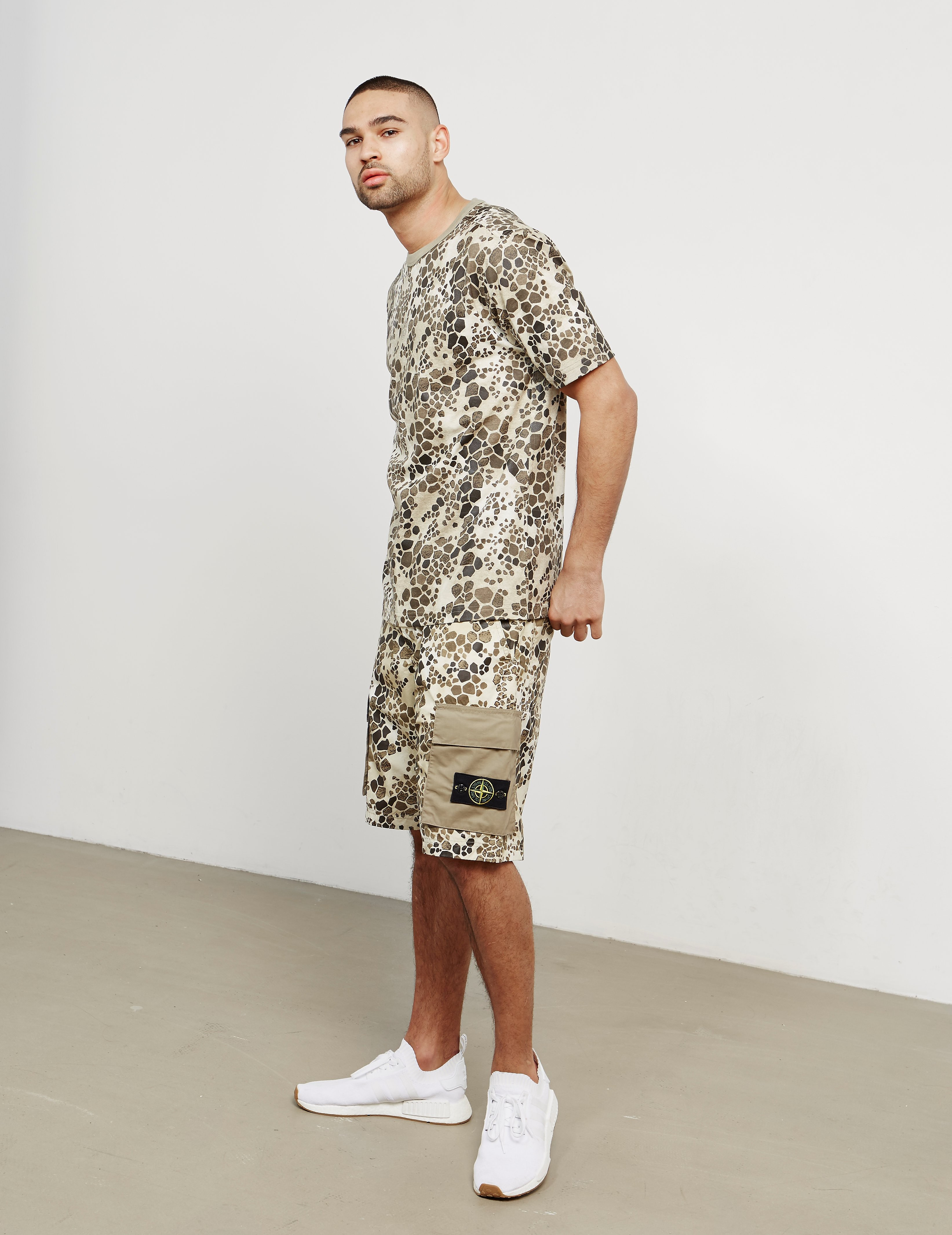 Stone Island Alligator Camo T-Shirt