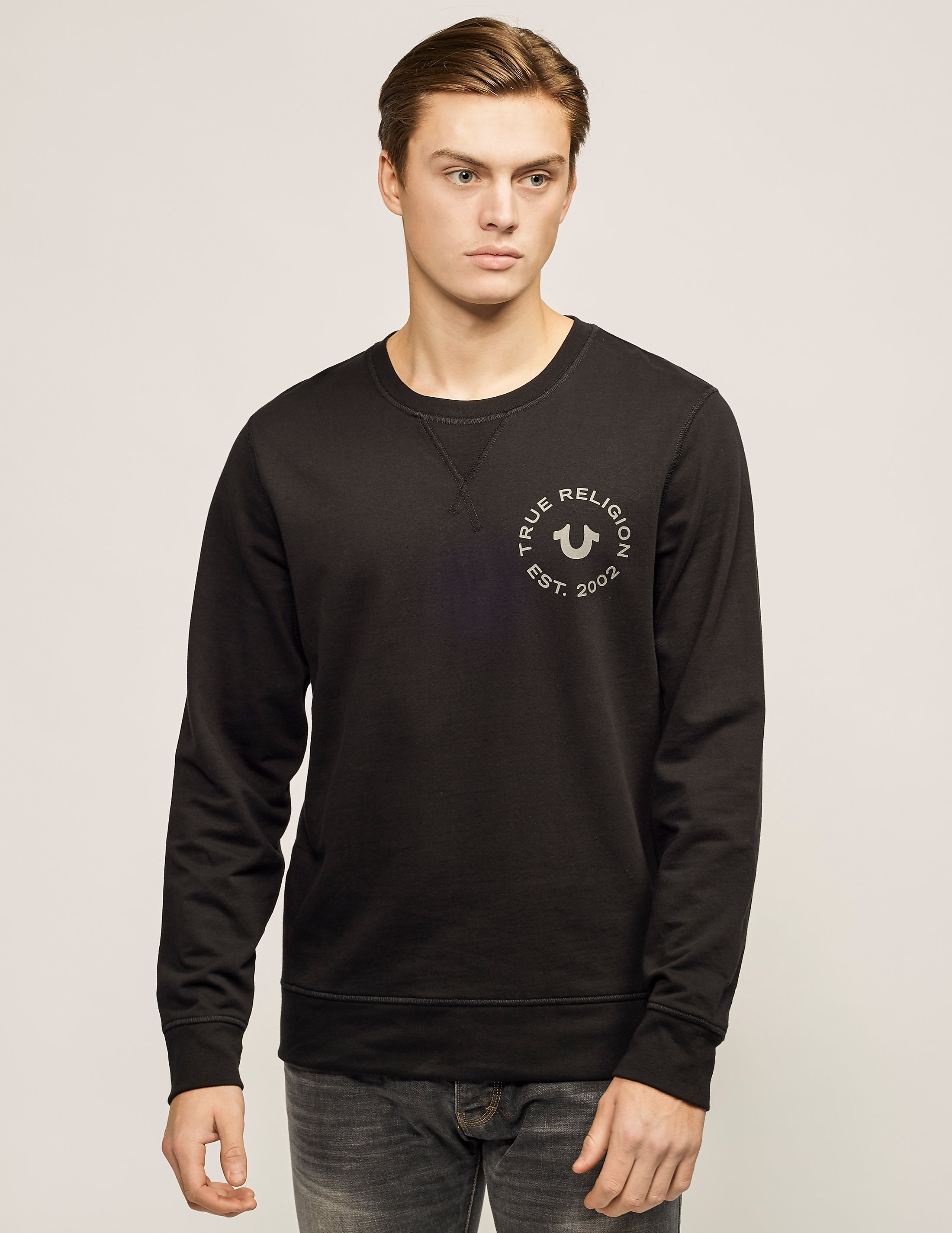 True Religion Crafted Pride Crew Sweatshirt