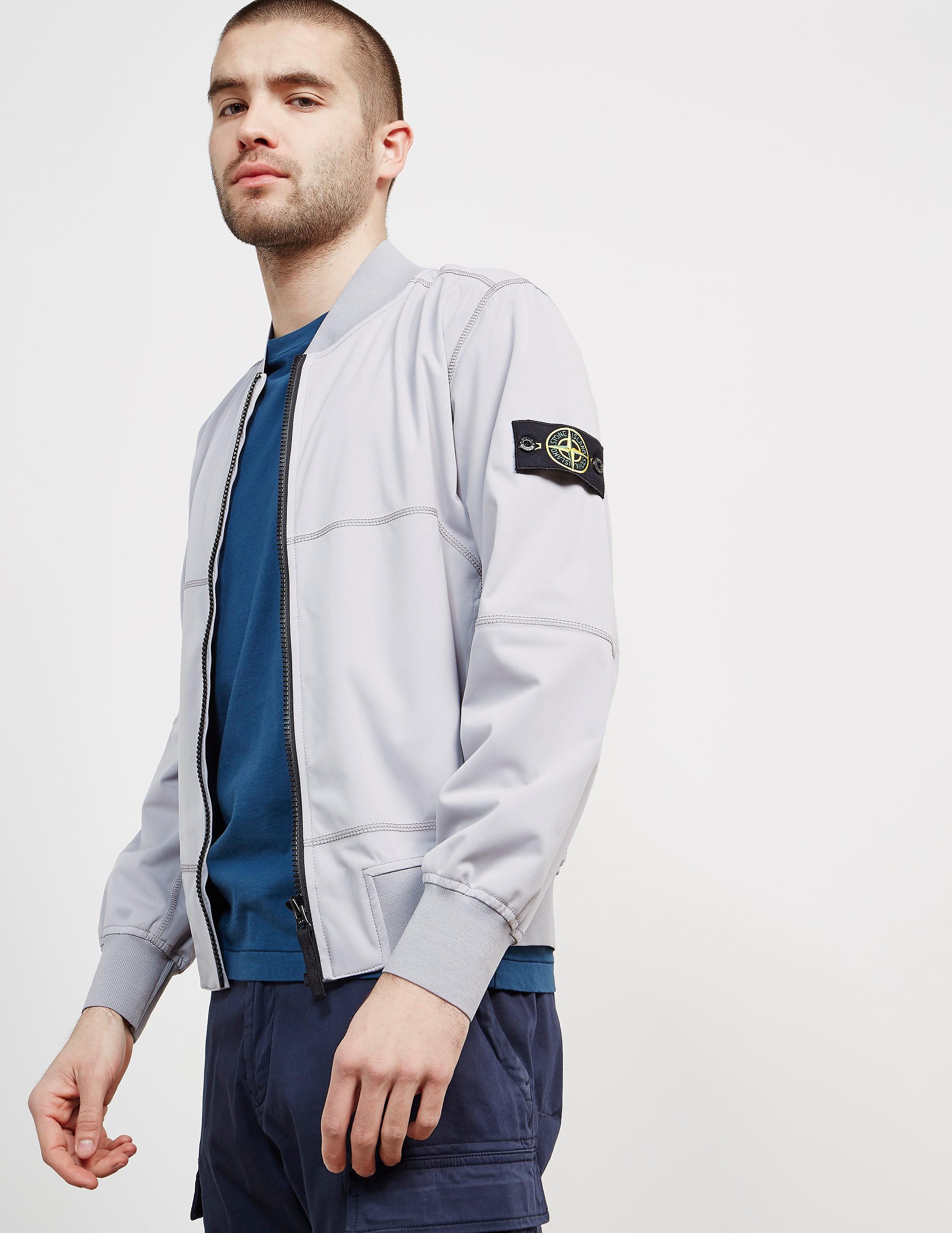 Stone Island Softshell Bomber Jacket