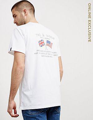 ca38ba6f95c16 Rag   Bone Flag Short Sleeve T-Shirt - Online Exclusive ...