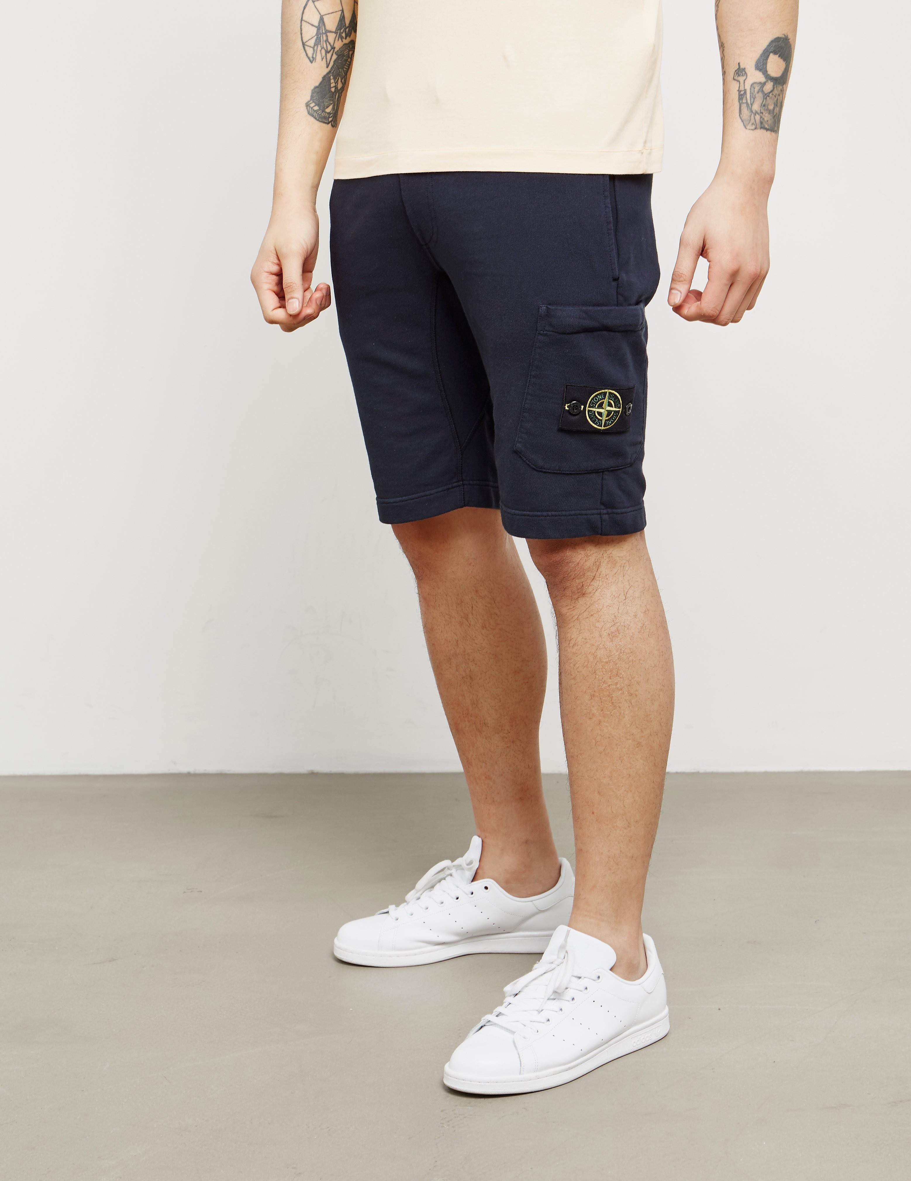 Stone Island Fleece Shorts