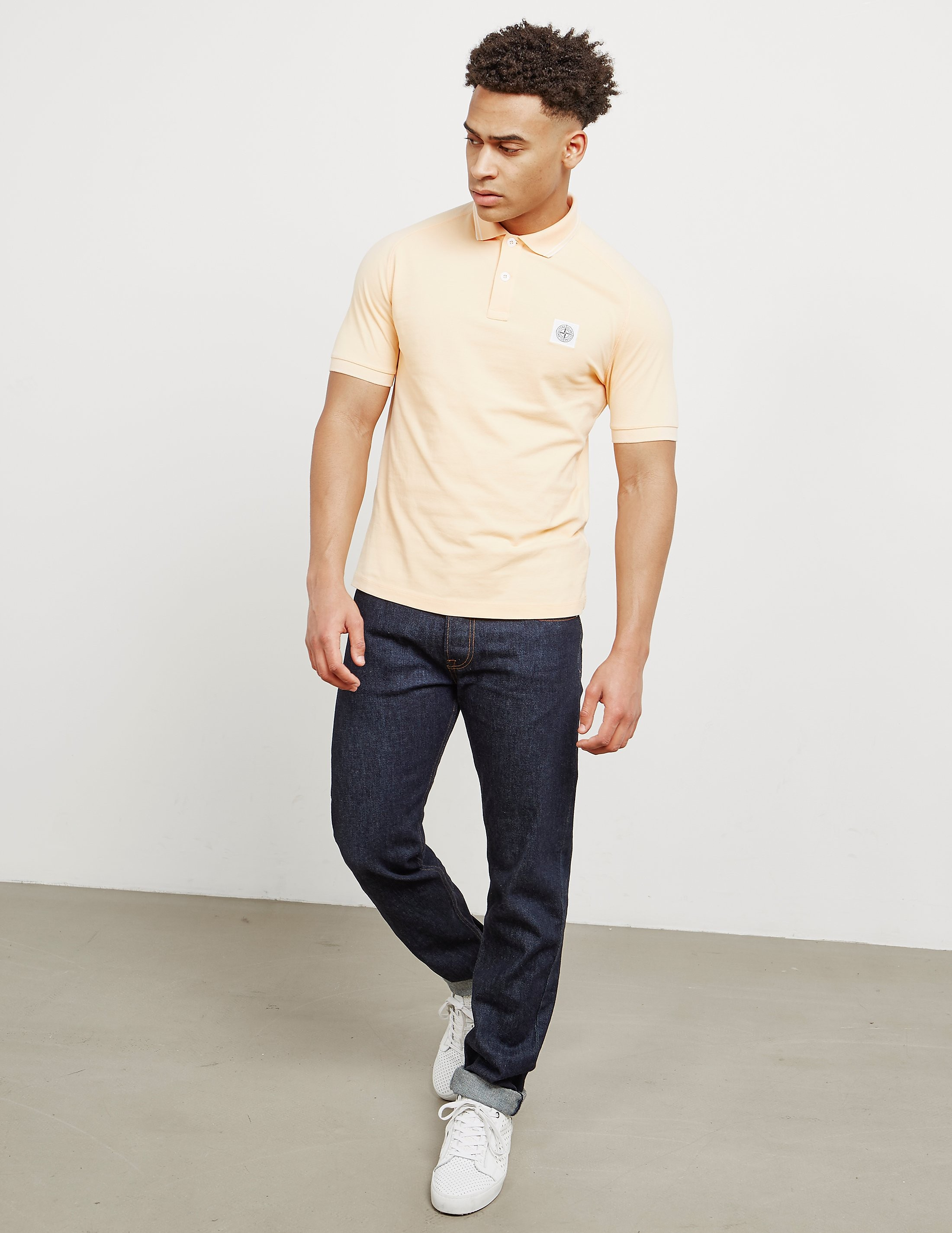 Stone Island Rag Short Sleeve Polo Shirt