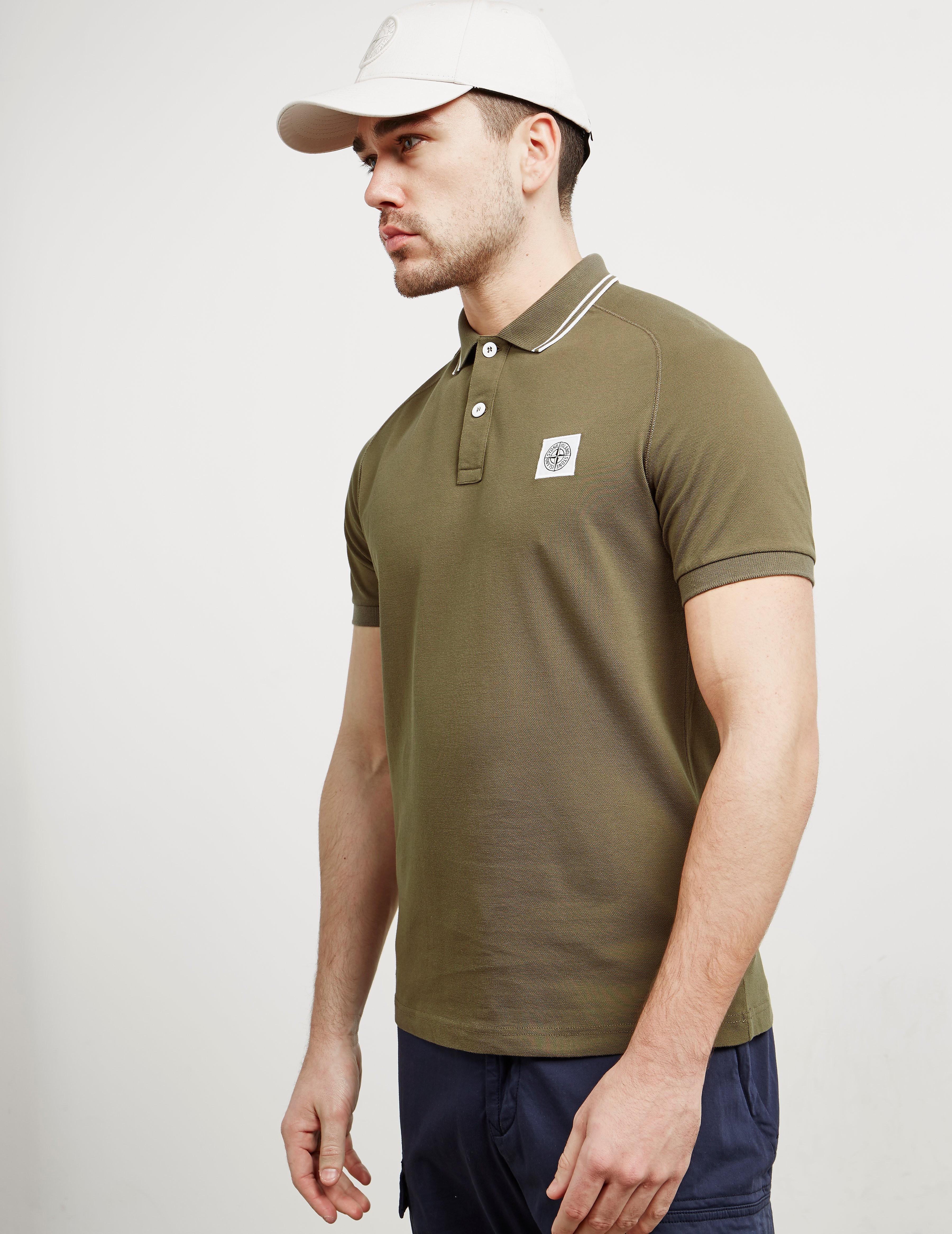 Stone Island Rag Short Sleeve Polo Shirt