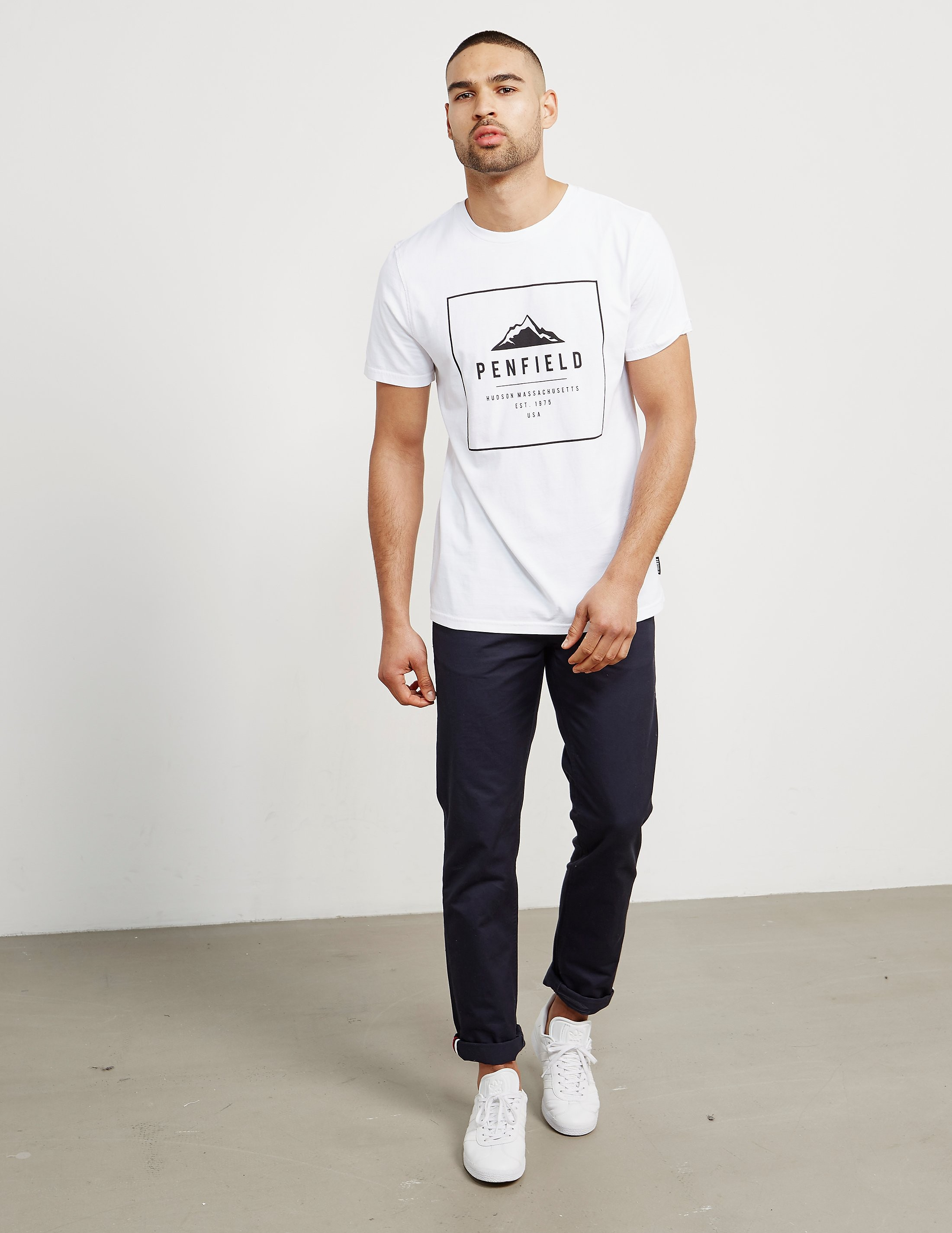 Penfield Alcala Square Logo Short Sleeve T-Shirt