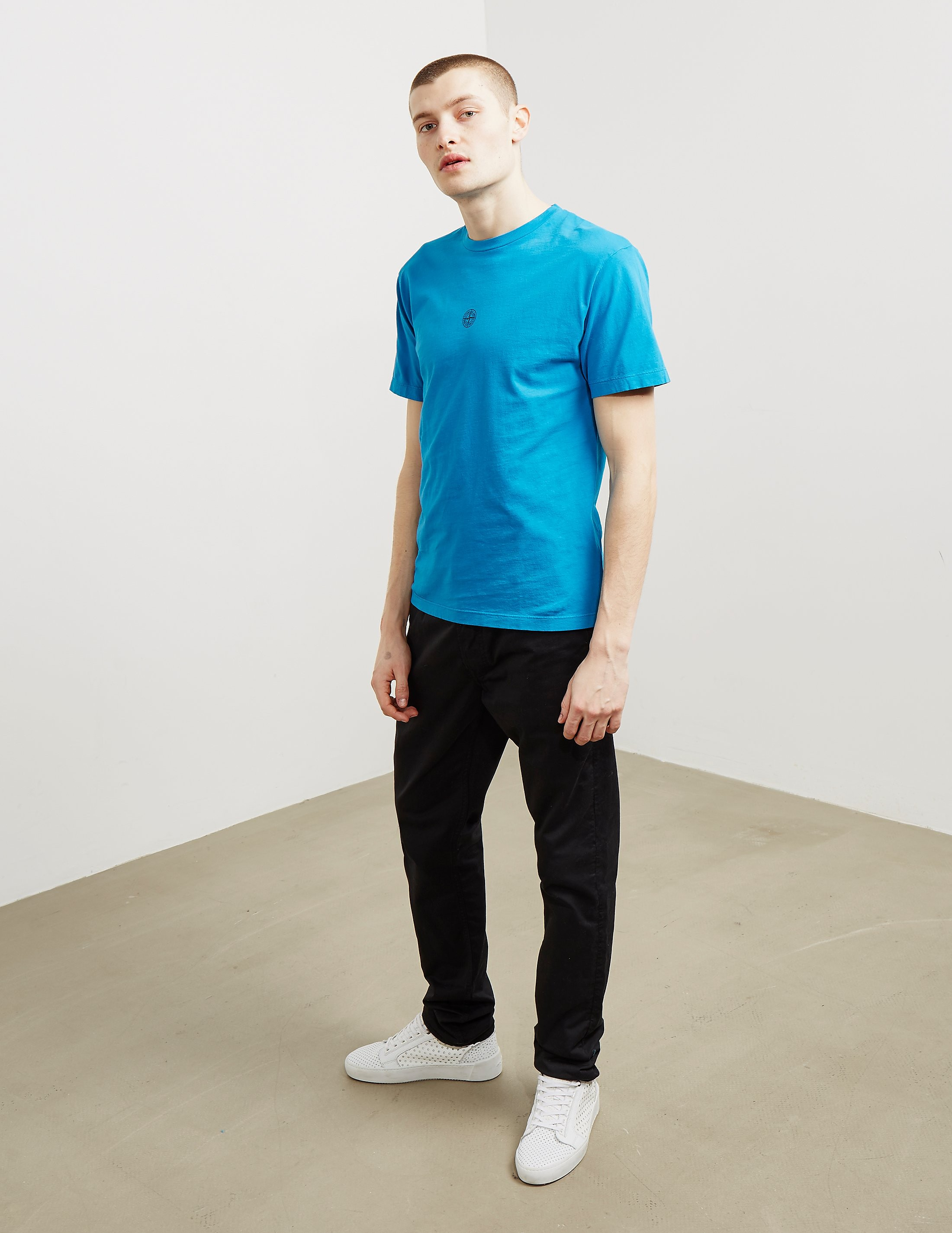 Stone Island Back Print Short Sleeve T-Shirt
