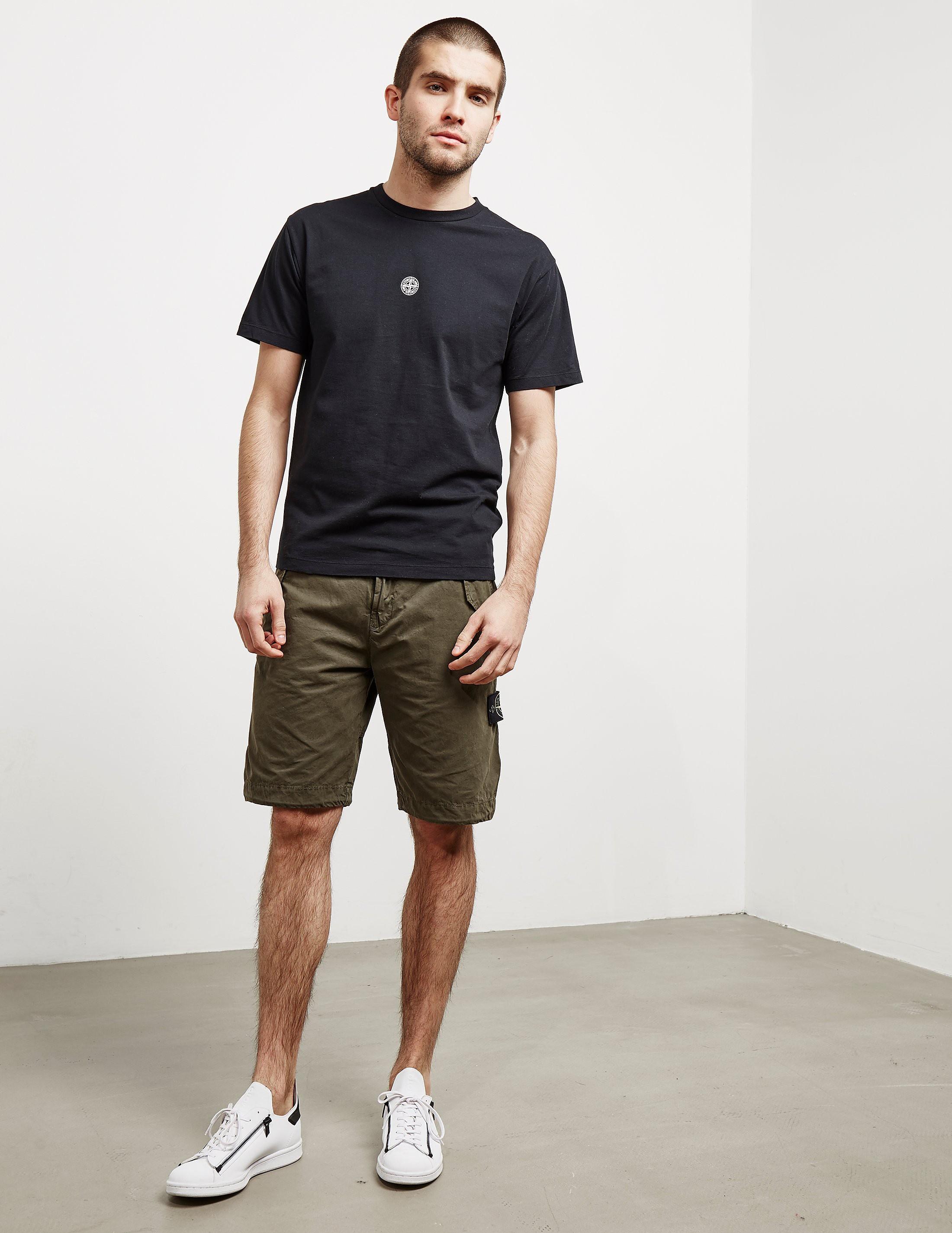 Stone Island Back Print Short Sleeve T-Shirt
