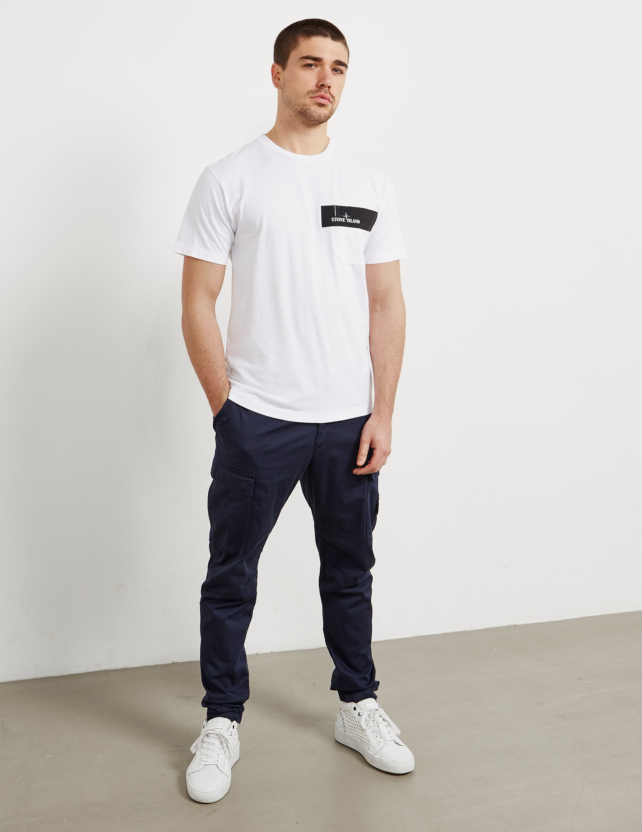 Stone Island Pocket Print Short Sleeve T-Shirt