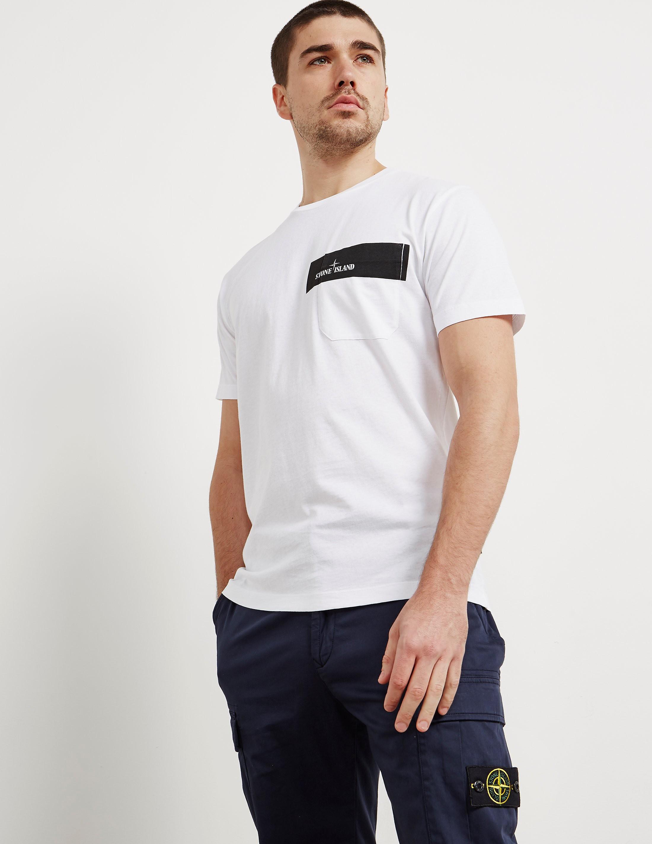 Stone Island Pocket Print Short Sleeve T-Shirt