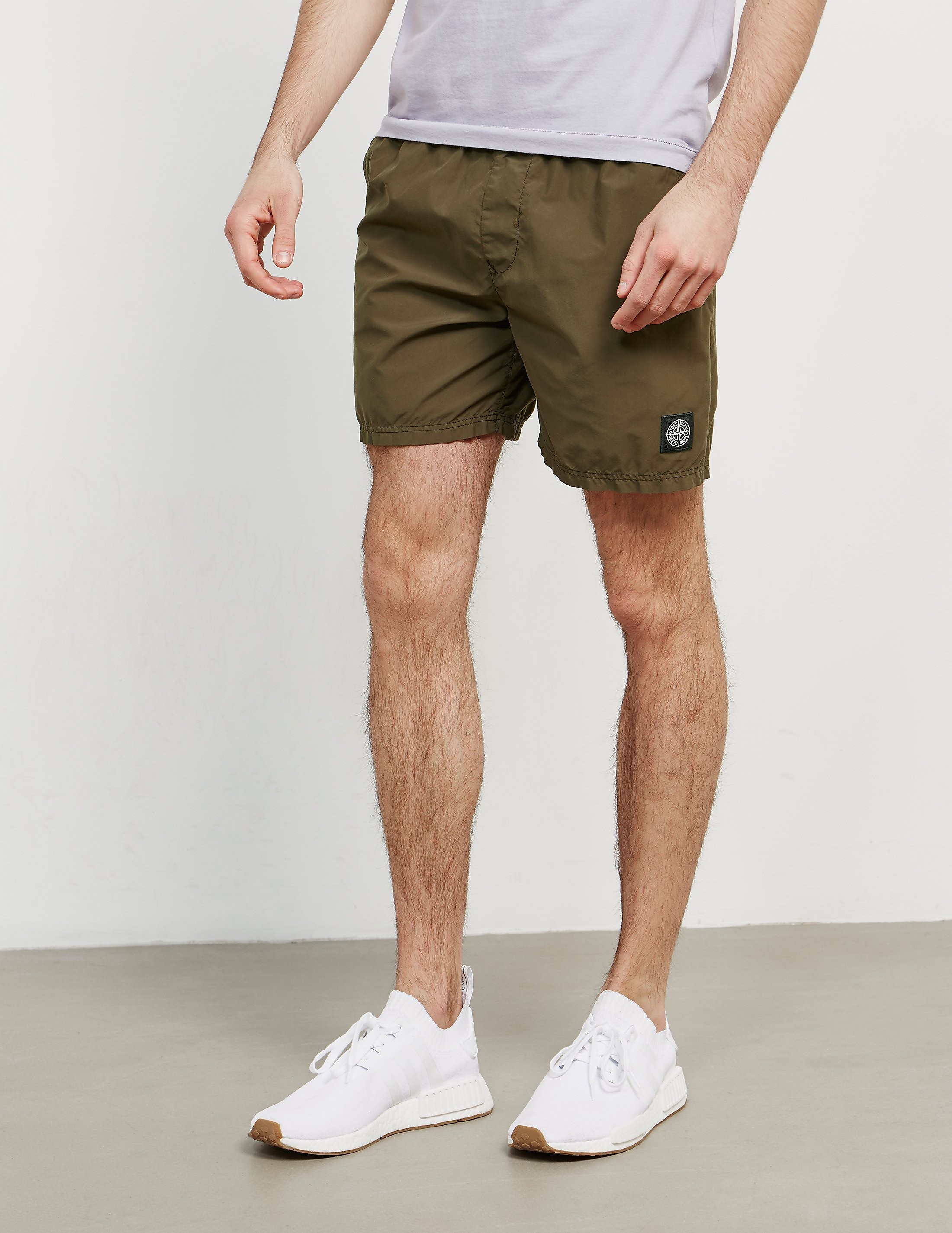 Stone Island Patch Swim Shorts