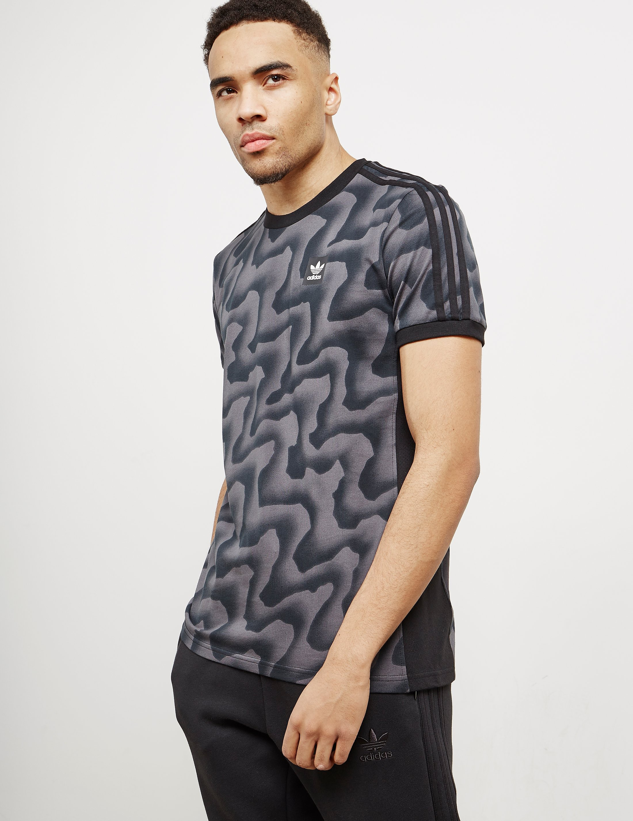 adidas Originals Skateboarding Warp Camo T-Shirt