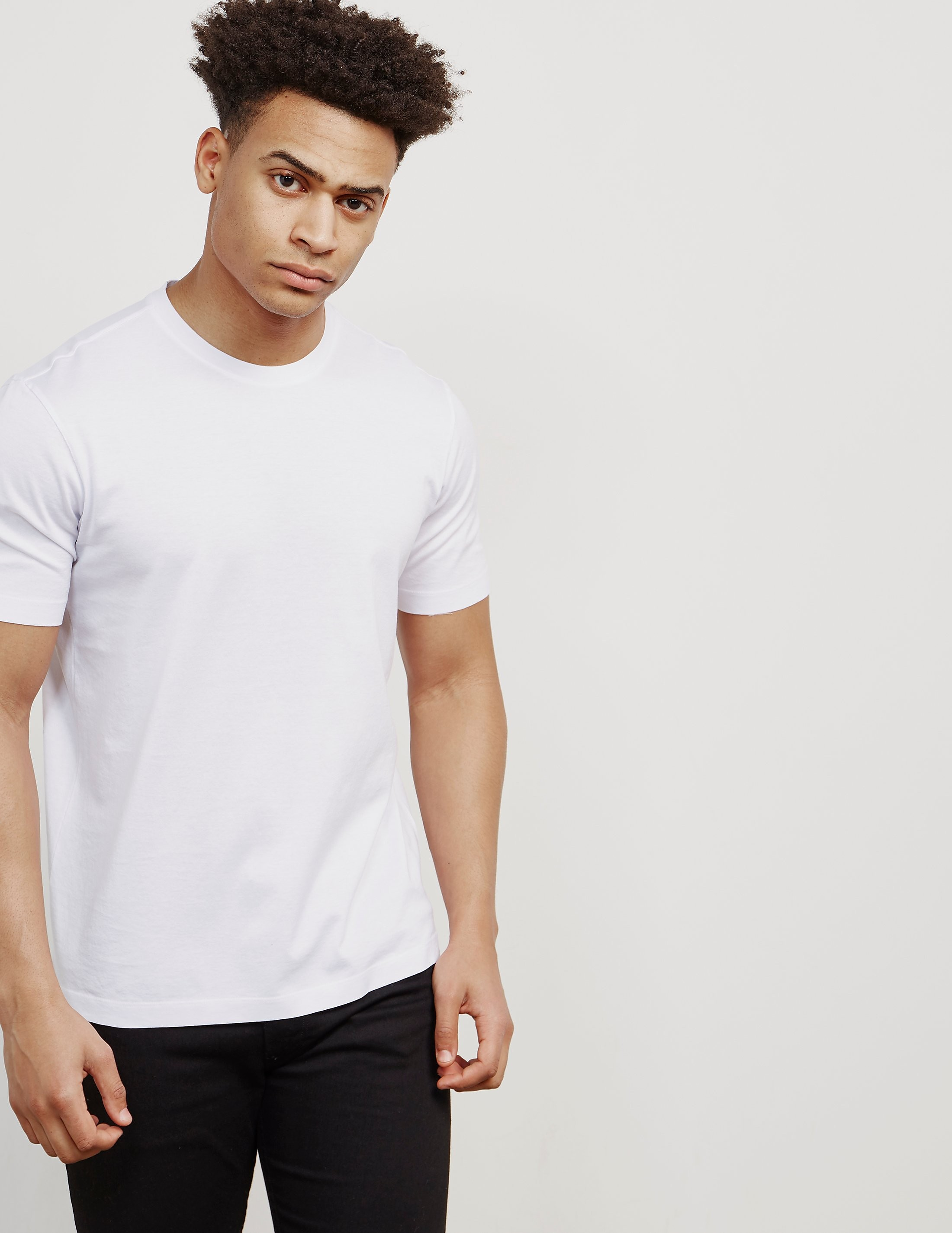 Z Zegna Basic Short Sleeve T-Shirt