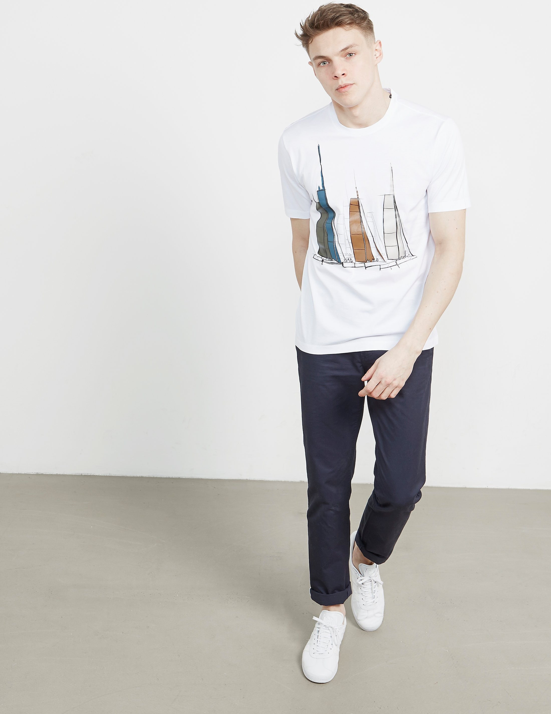 Z Zegna Ship Short Sleeve T-Shirt
