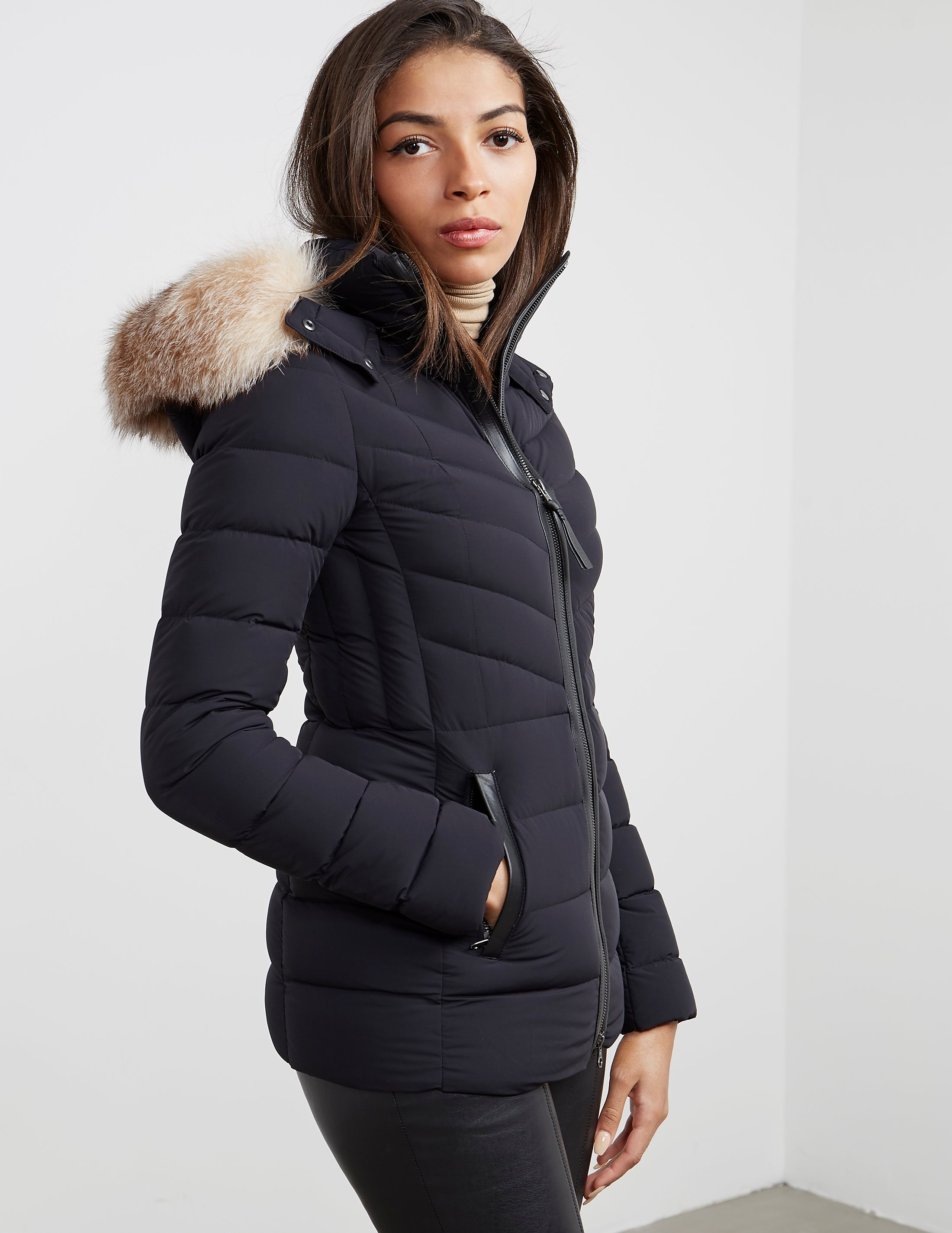 Mackage PT-X Fur Padded Jacket