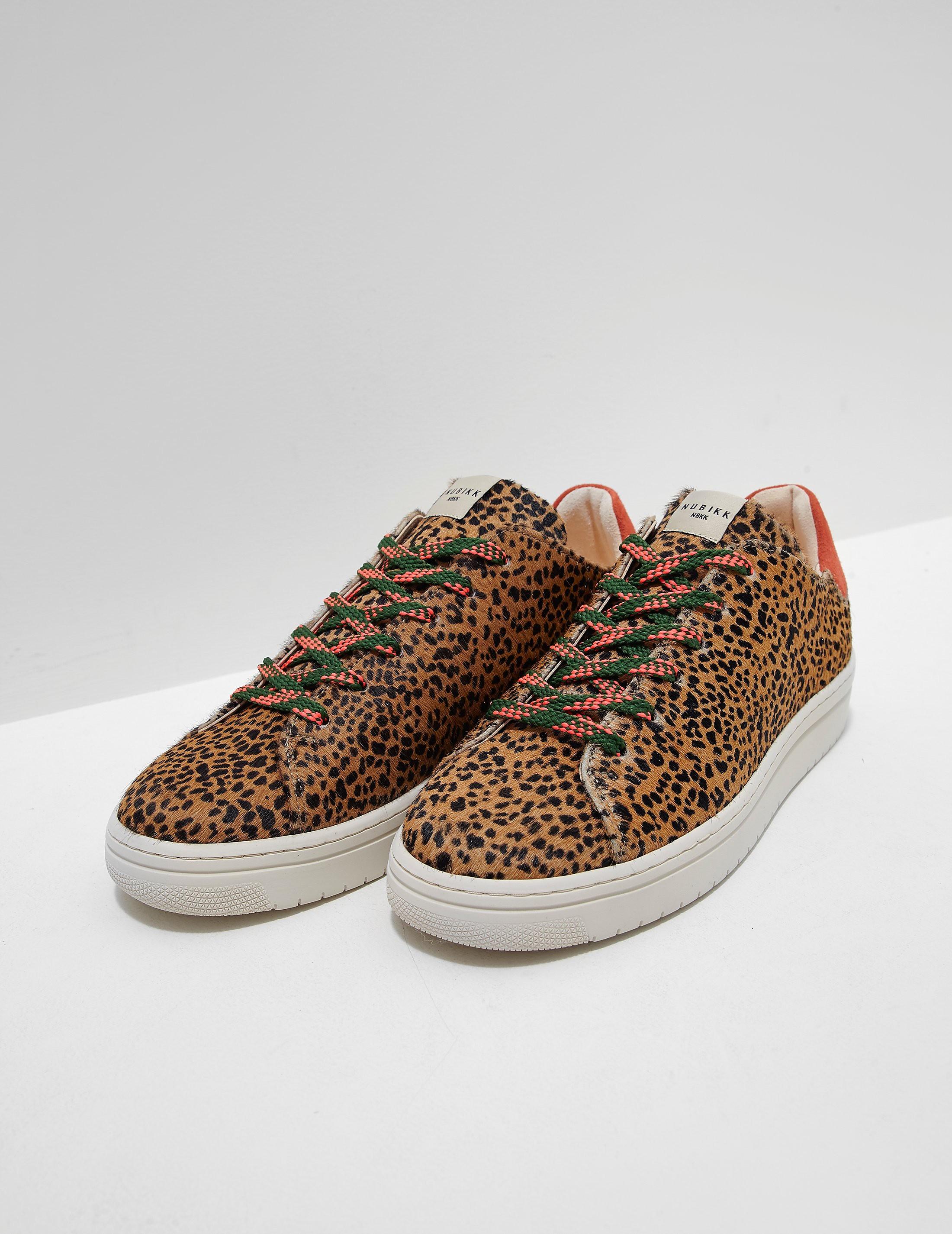 Nubikk Leopard Print Trainers