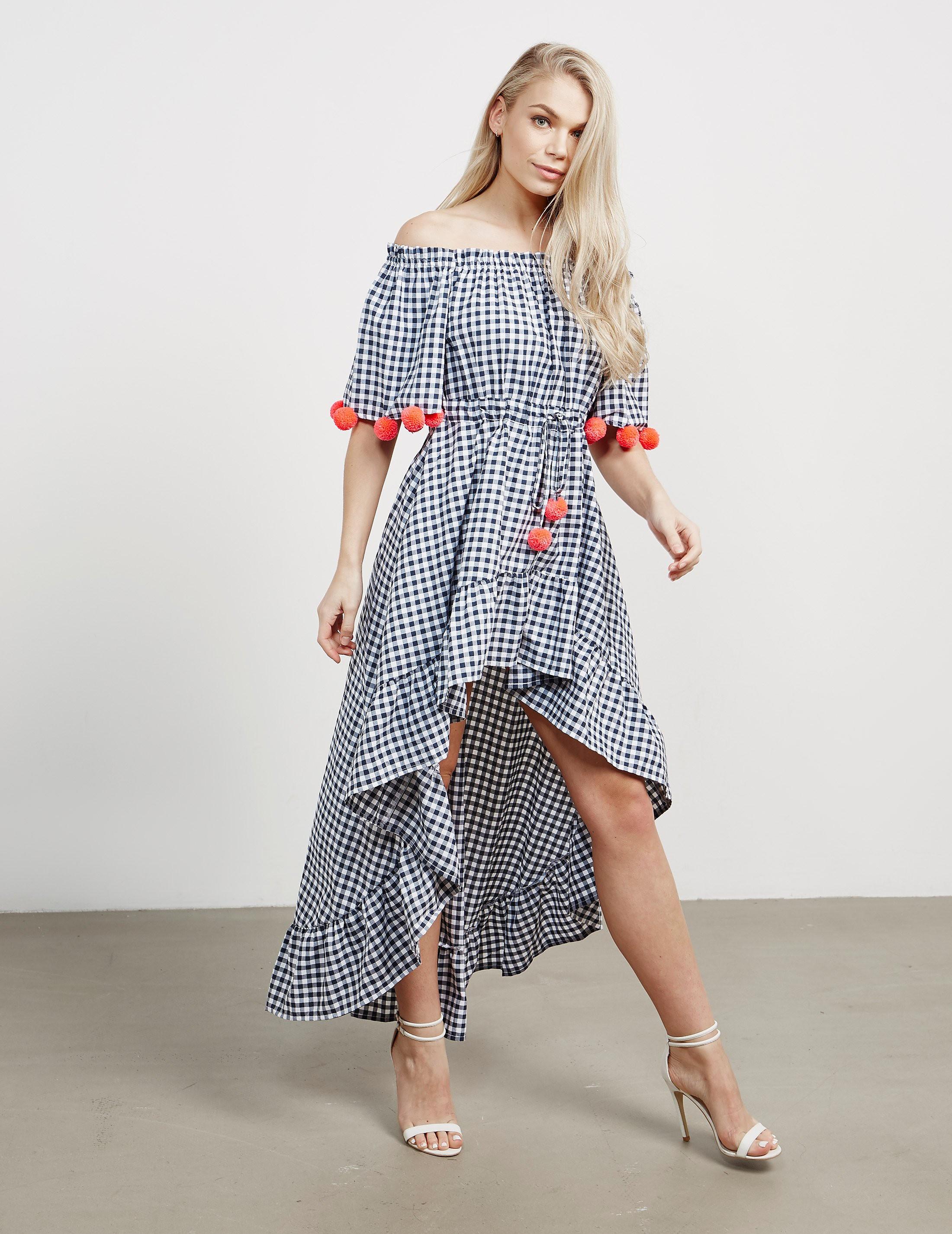 Sundress Alena Gingham Dress