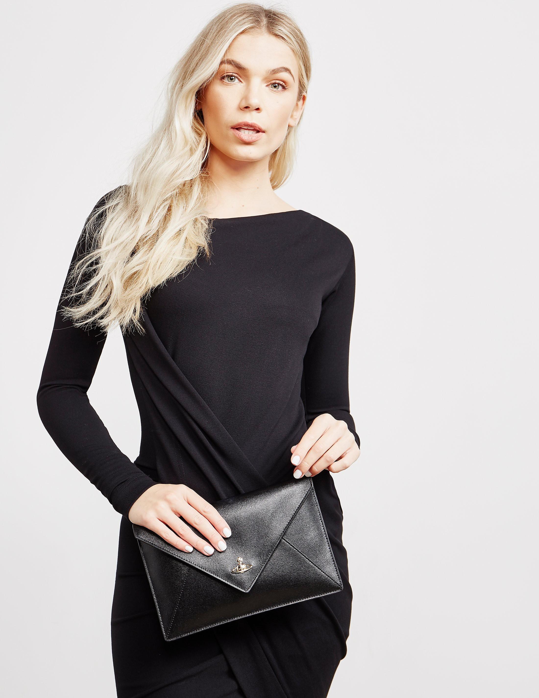 Vivienne Westwood Saffiano Pouch Bag