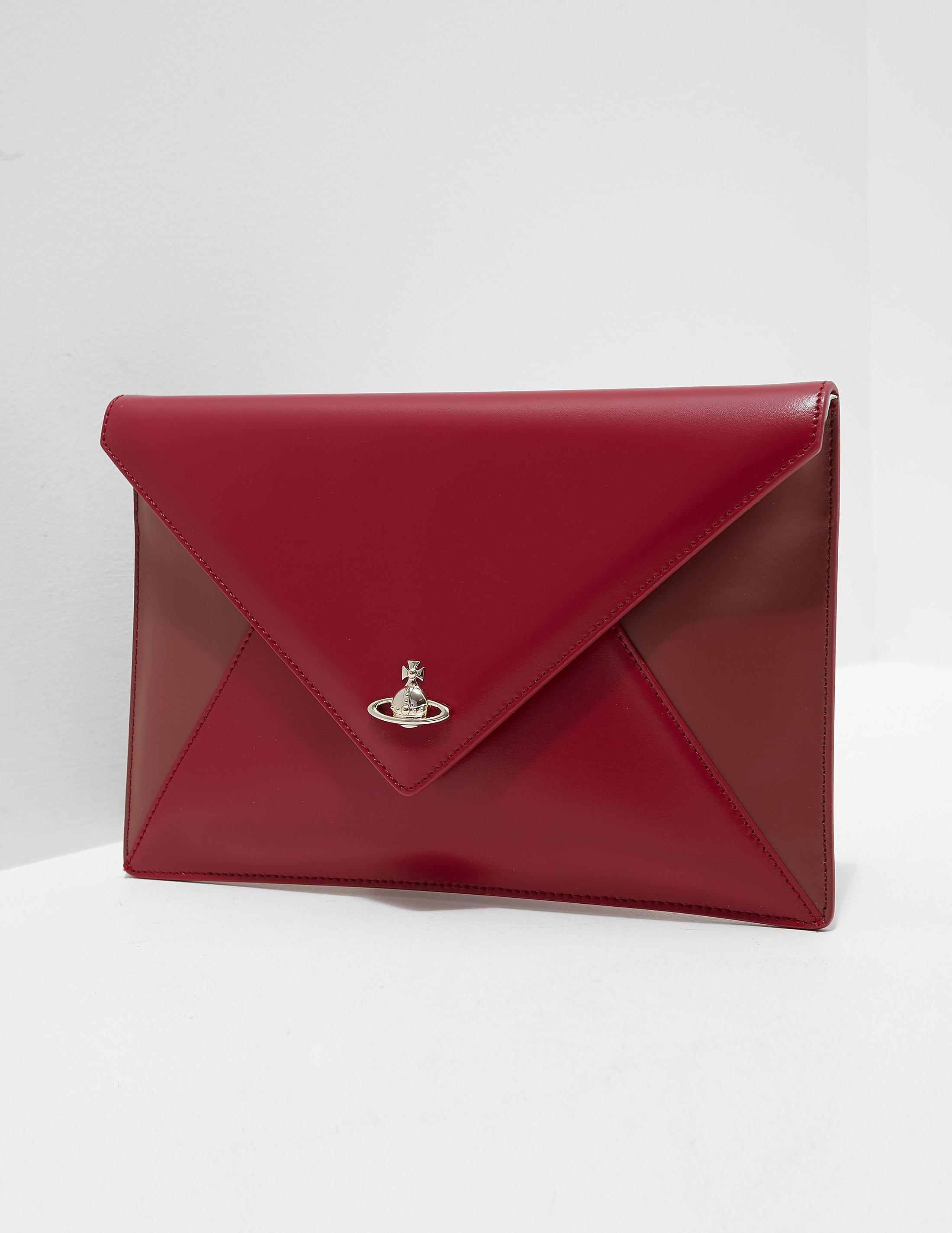 Vivienne Westwood Saffiano Clutch Bag