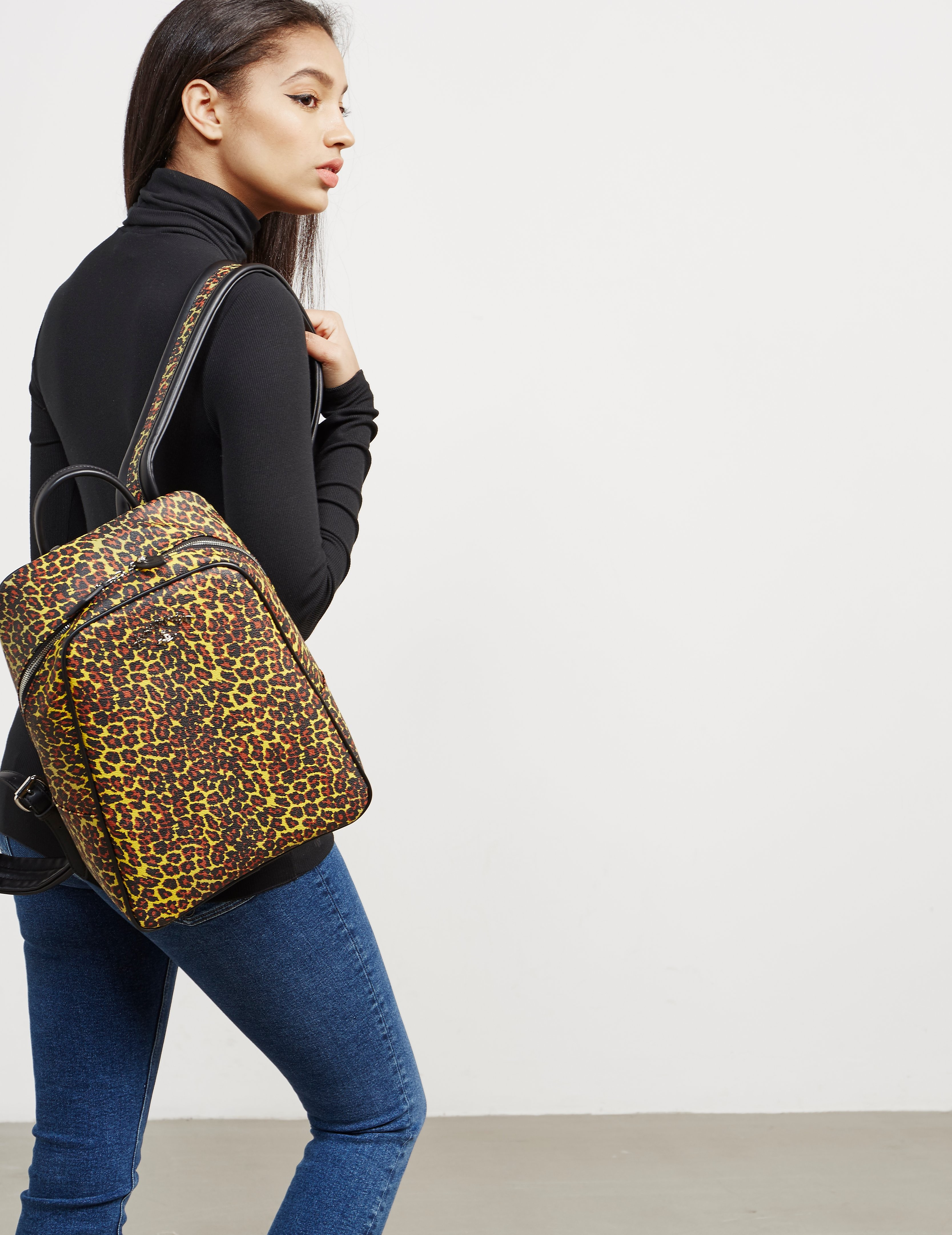 Vivienne Westwood Anglomania Leopard Backpack