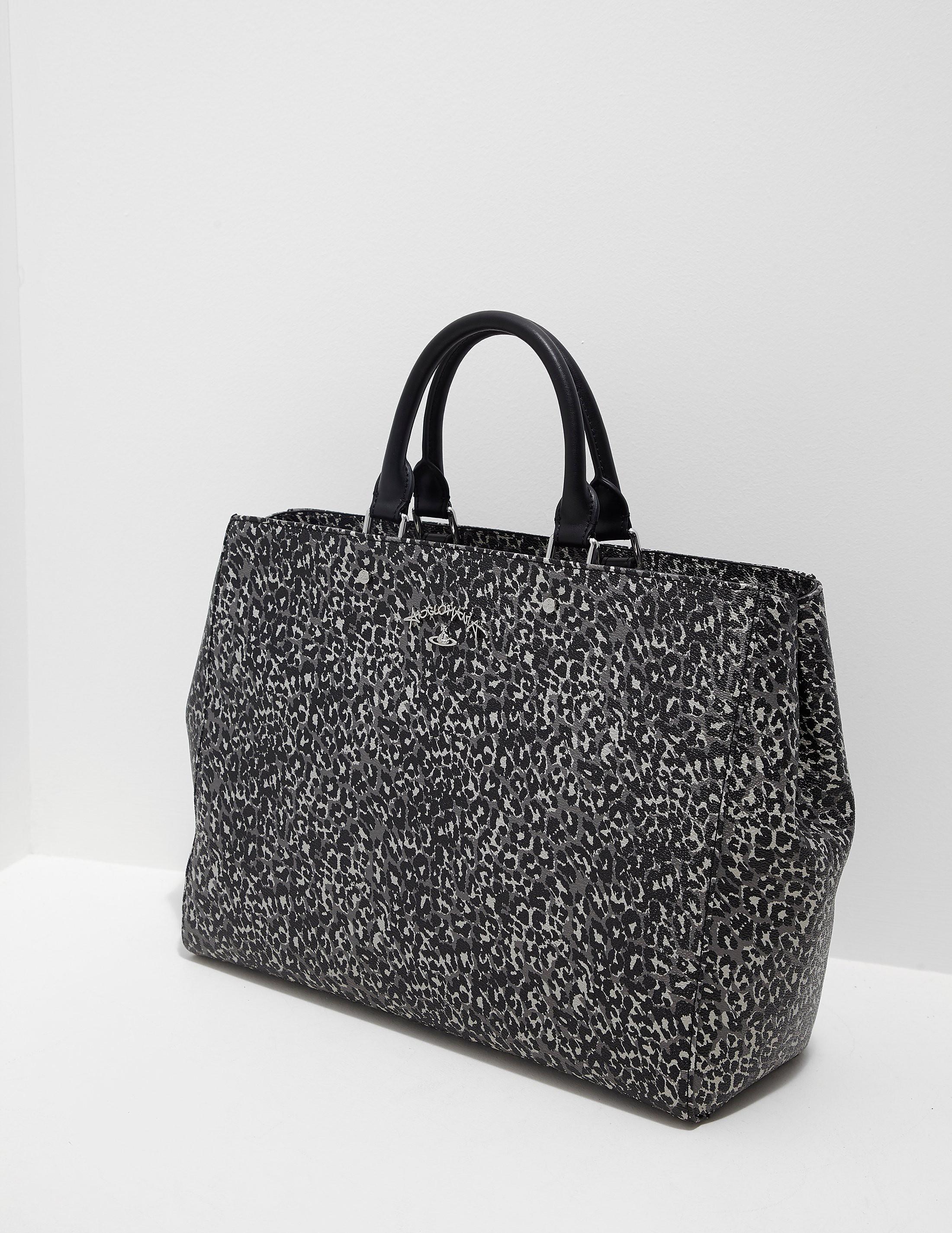 Vivienne Westwood Leopard Shopper Bag