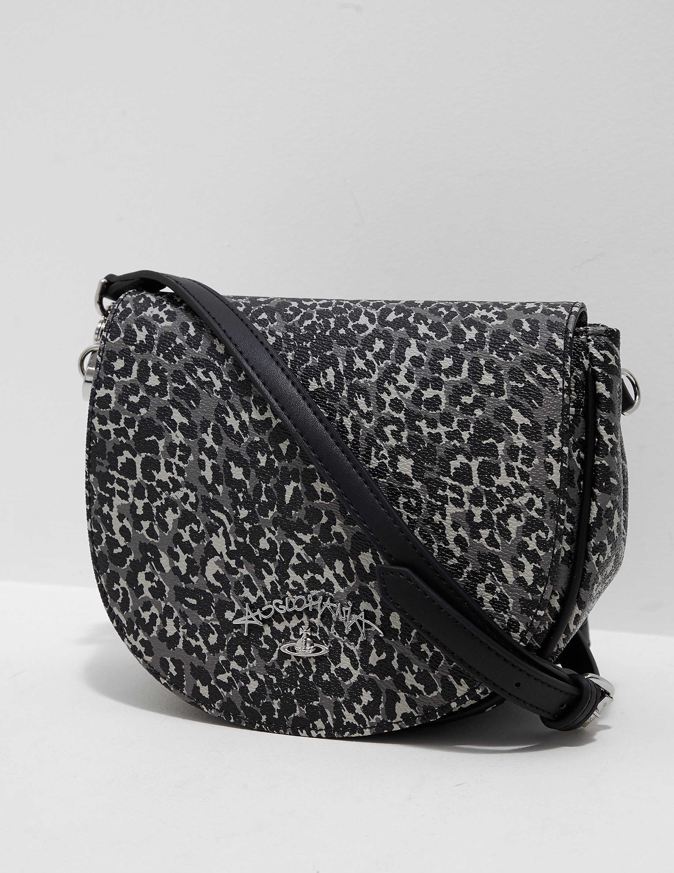 Vivienne Westwood Leopard Shoulder Bag