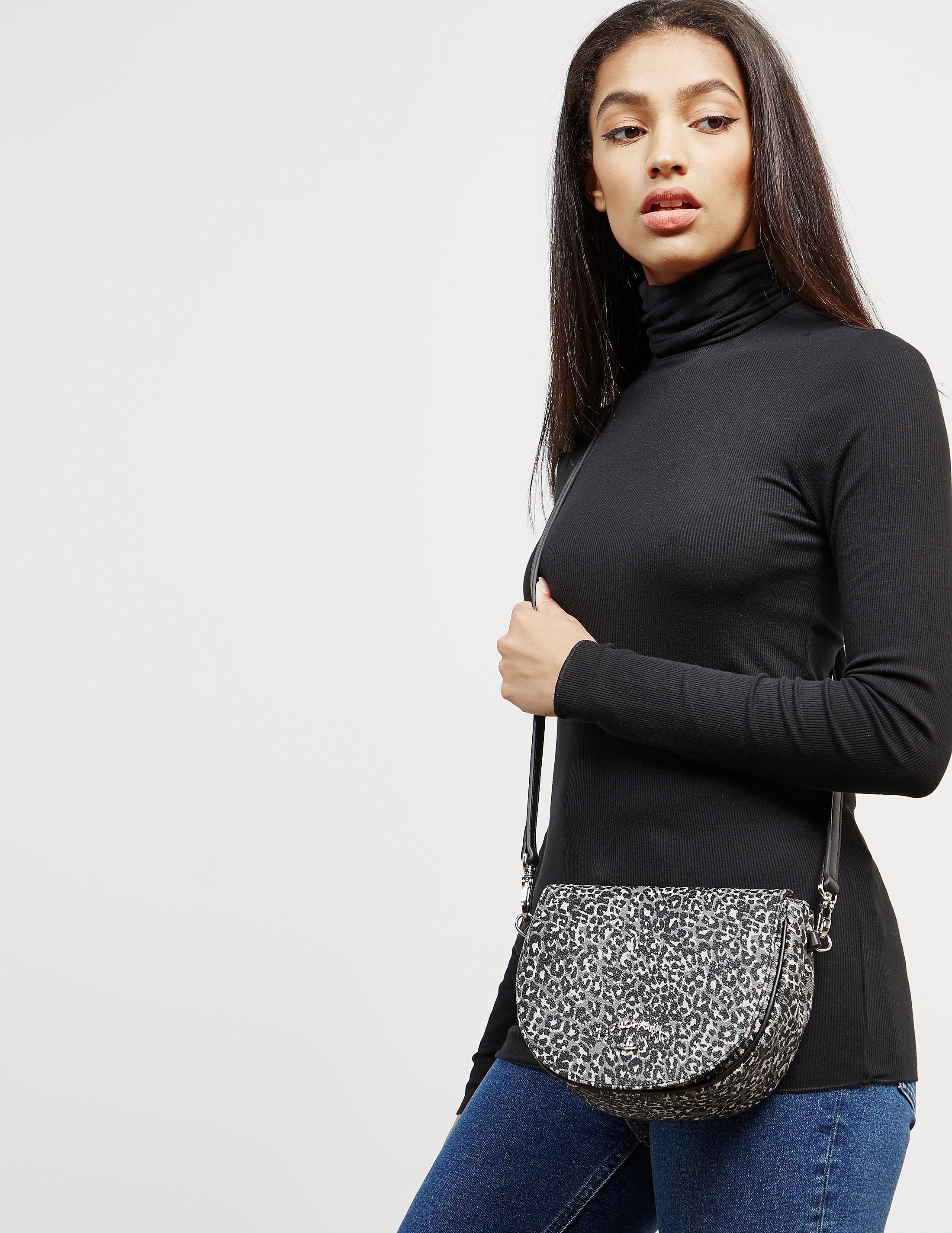 Vivienne Westwood Leopard Shoulder Bag