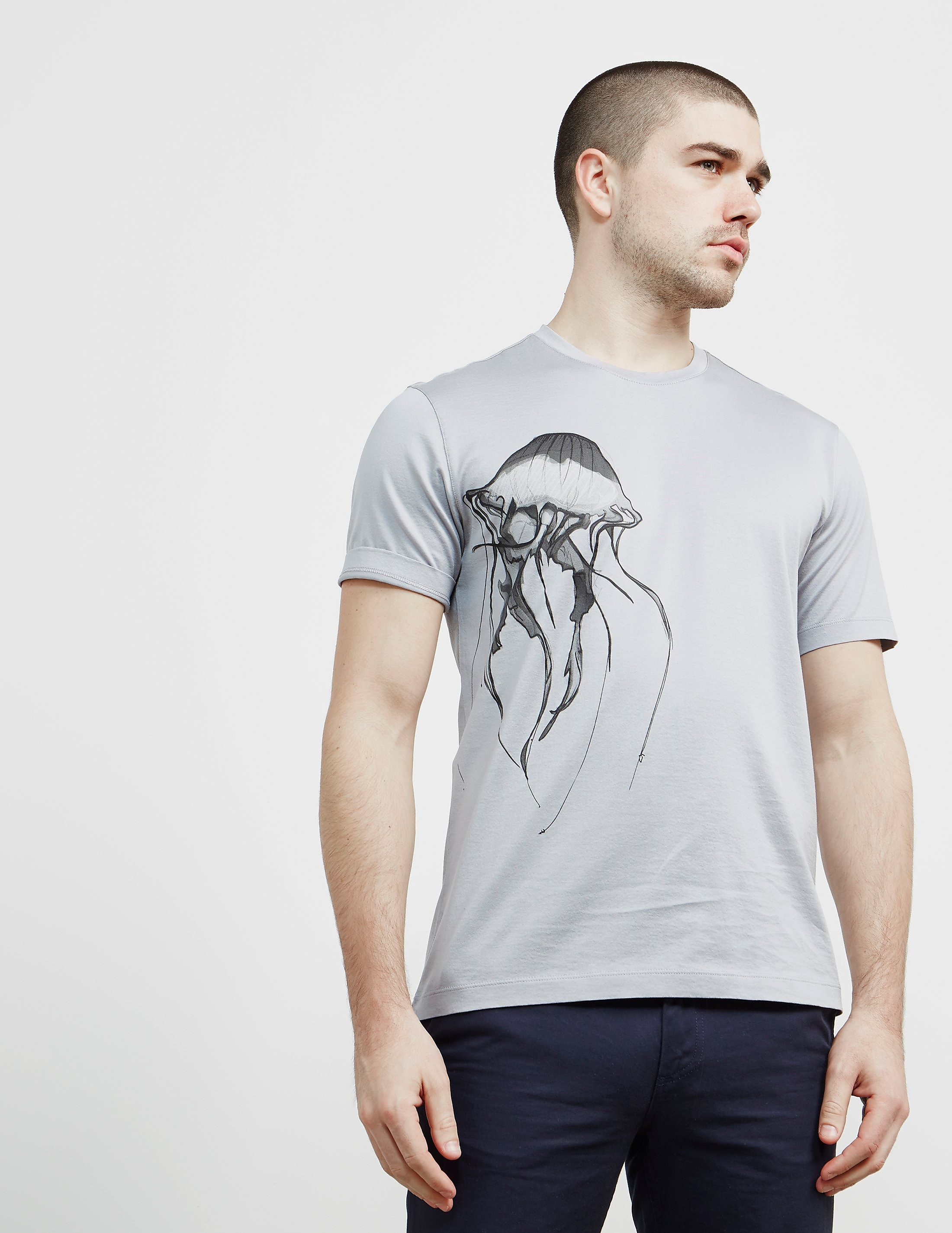 Z Zegna Jellyfish Short Sleeve T-Shirt