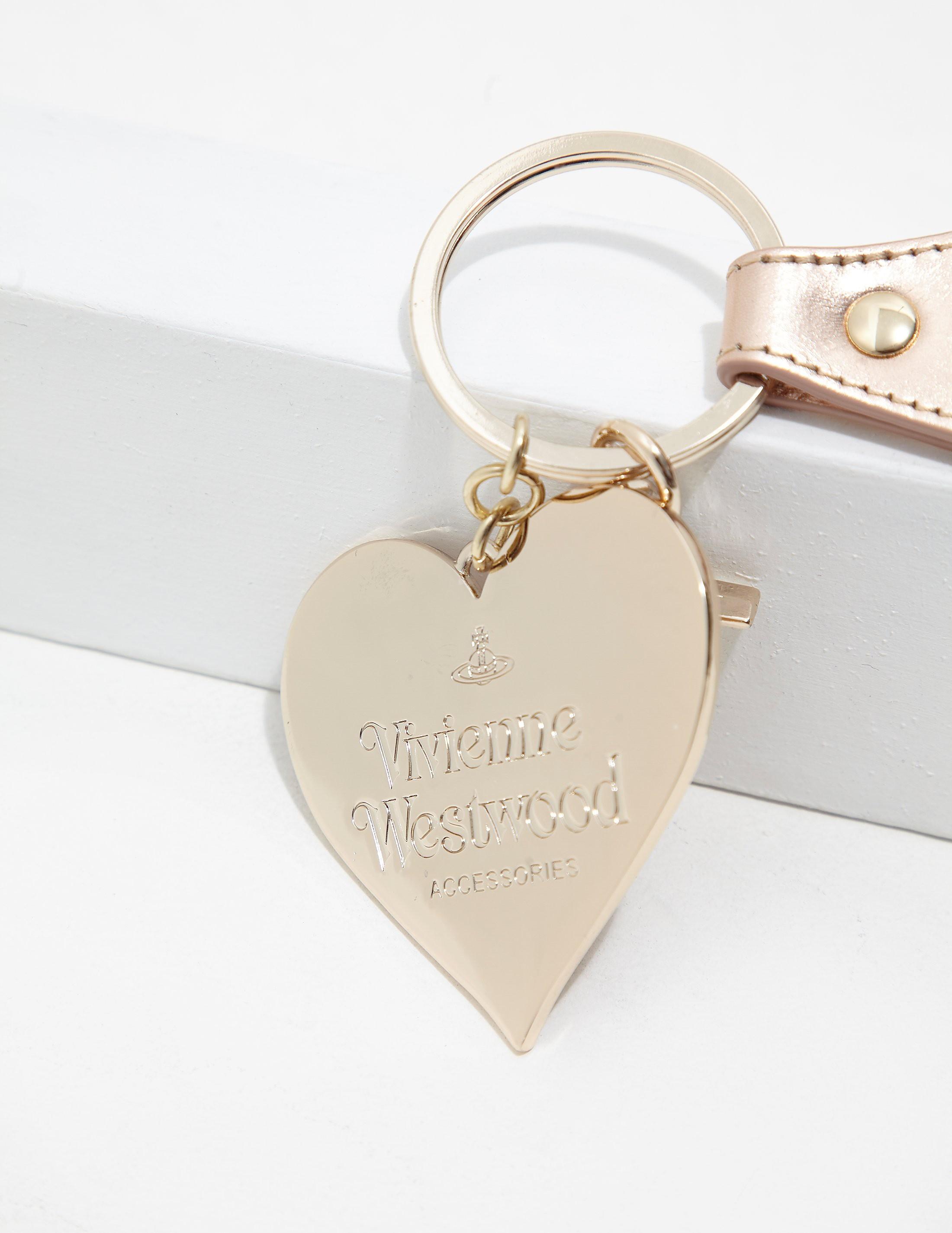 Vivienne Westwood Heart Keychain