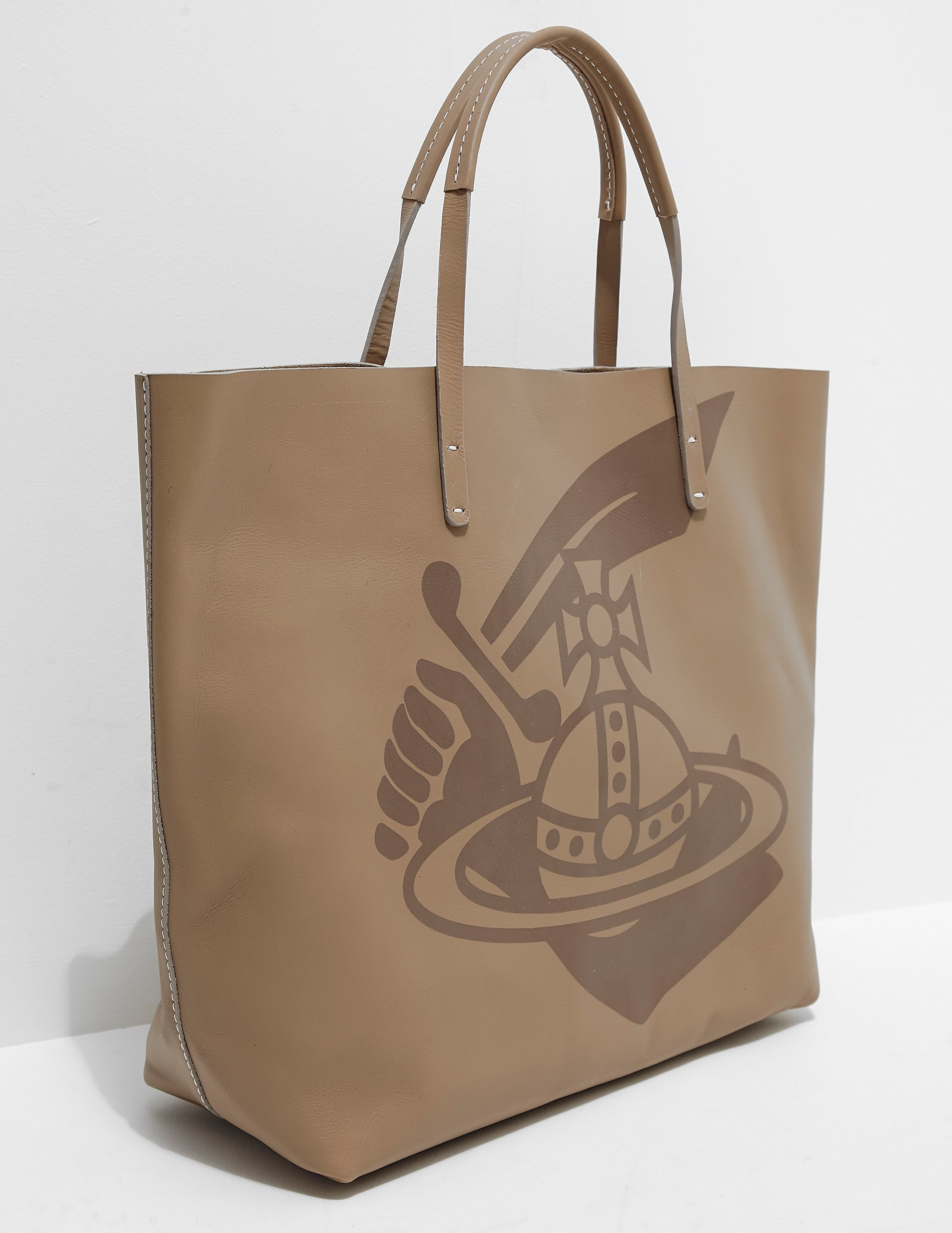 Vivienne Westwood Anglomania Africa Shopper Bag