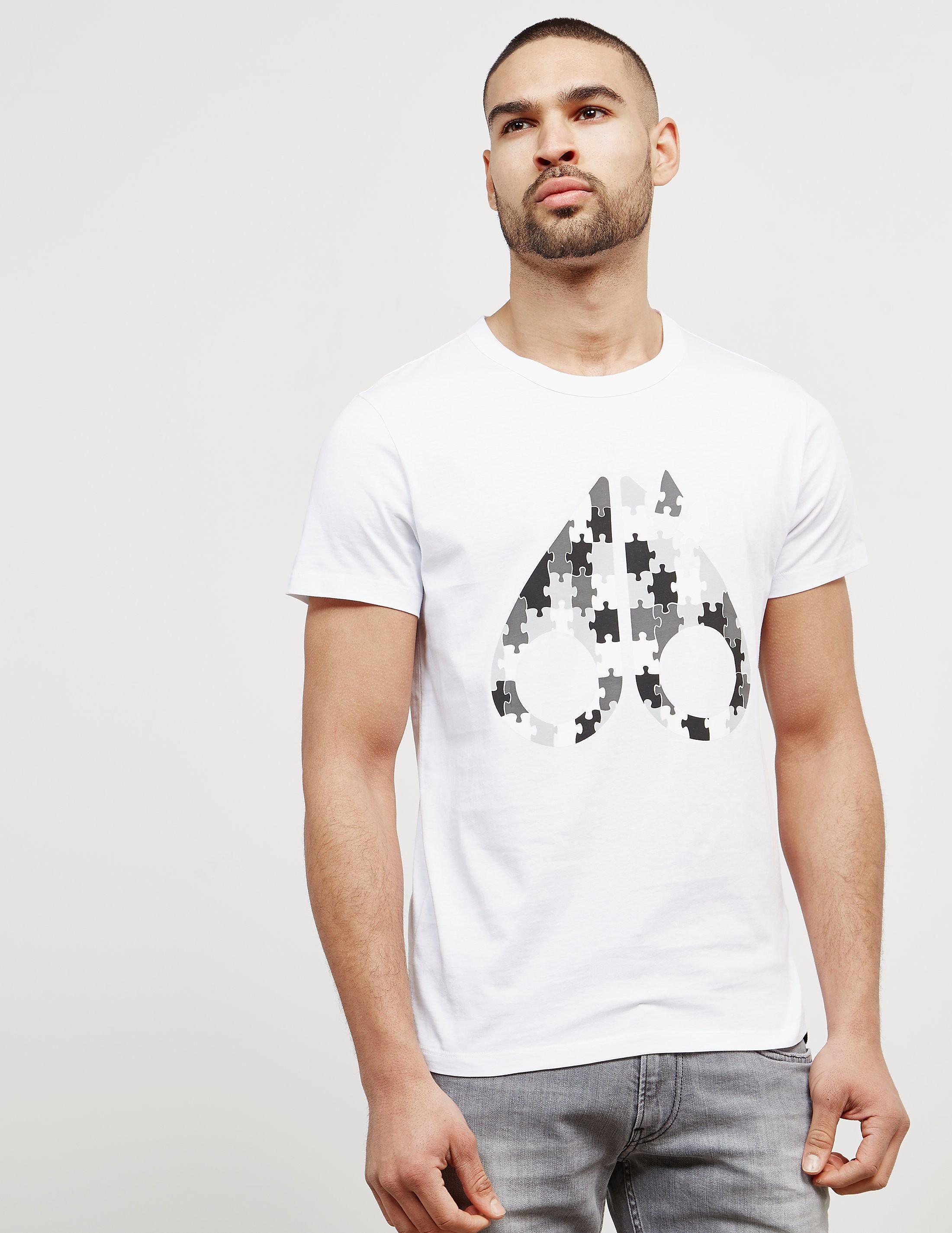 Moose Knuckles Laser Short Sleeve T-Shirt
