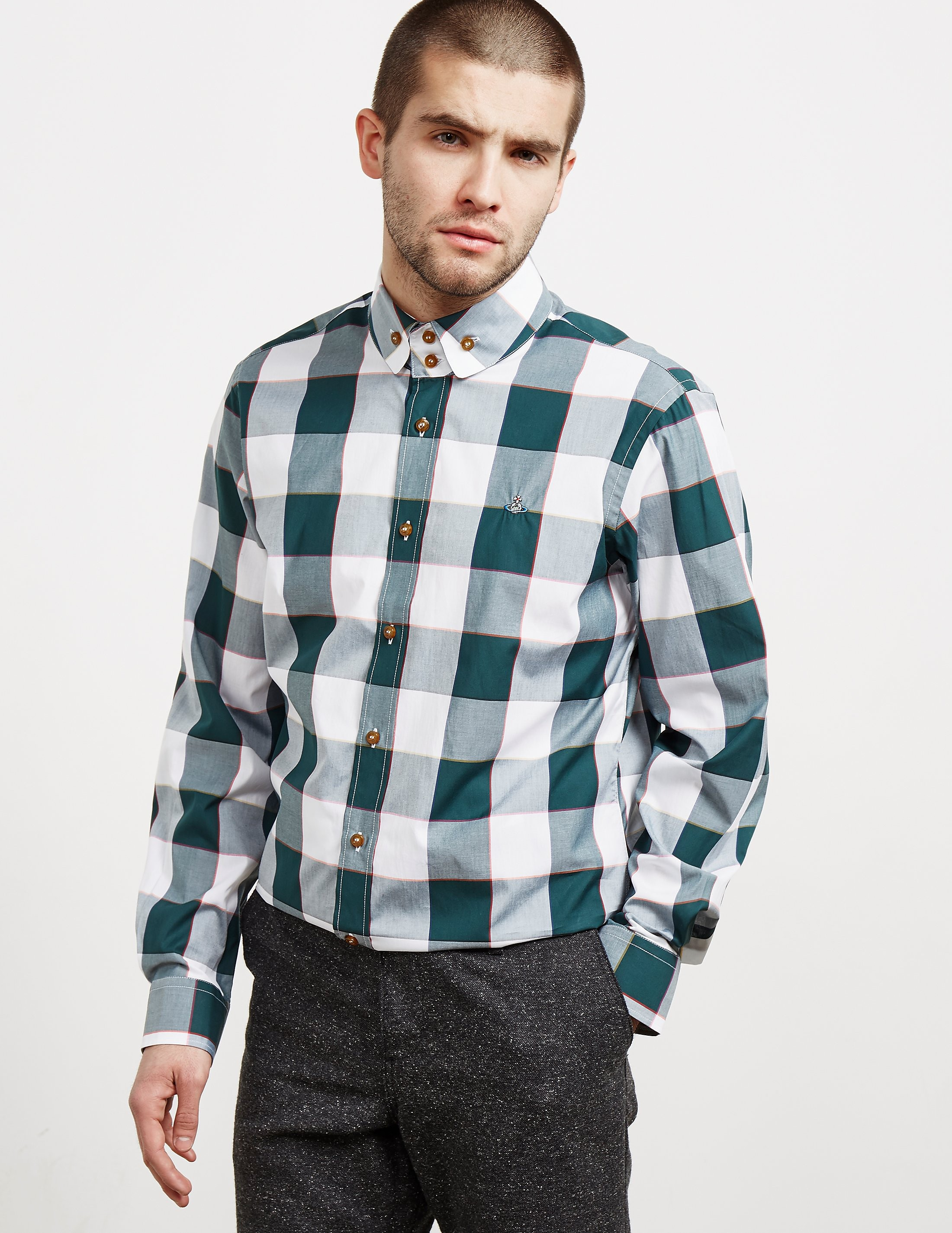 Vivienne Westwood Check Long Sleeve Shirt
