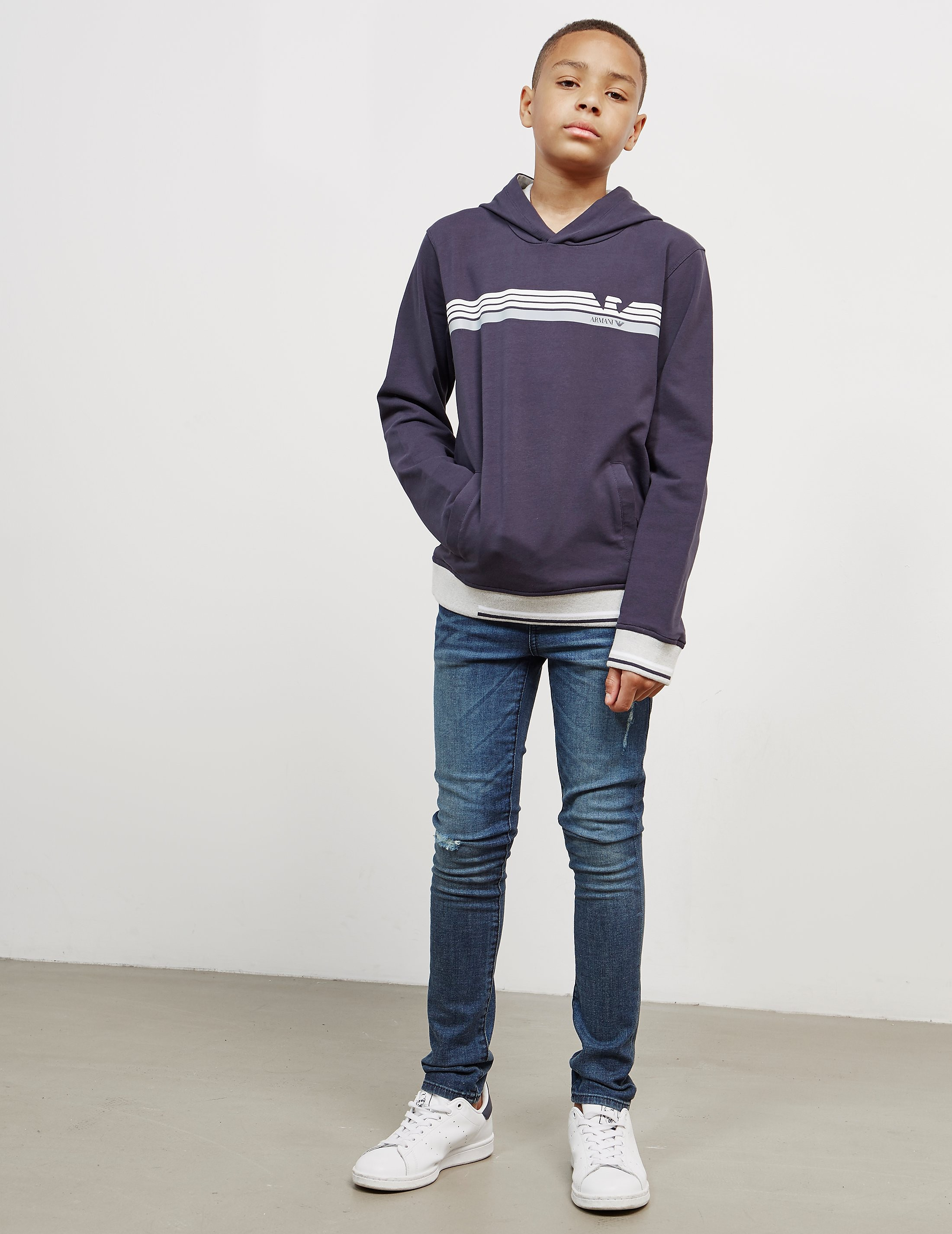 Armani Jeans Tip Overhead Hoodie