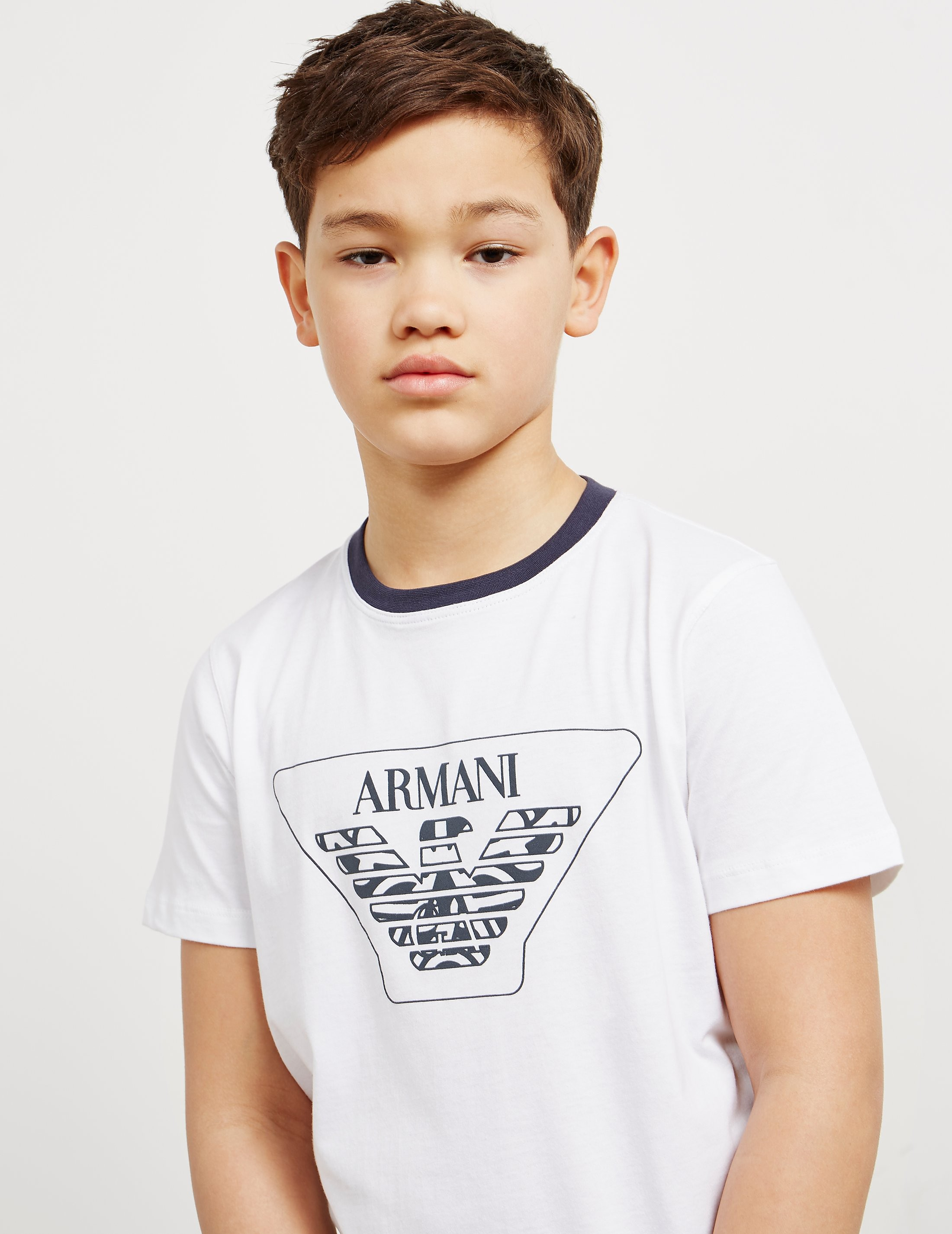 Emporio Armani Eagle Logo Short Sleeve T-Shirt