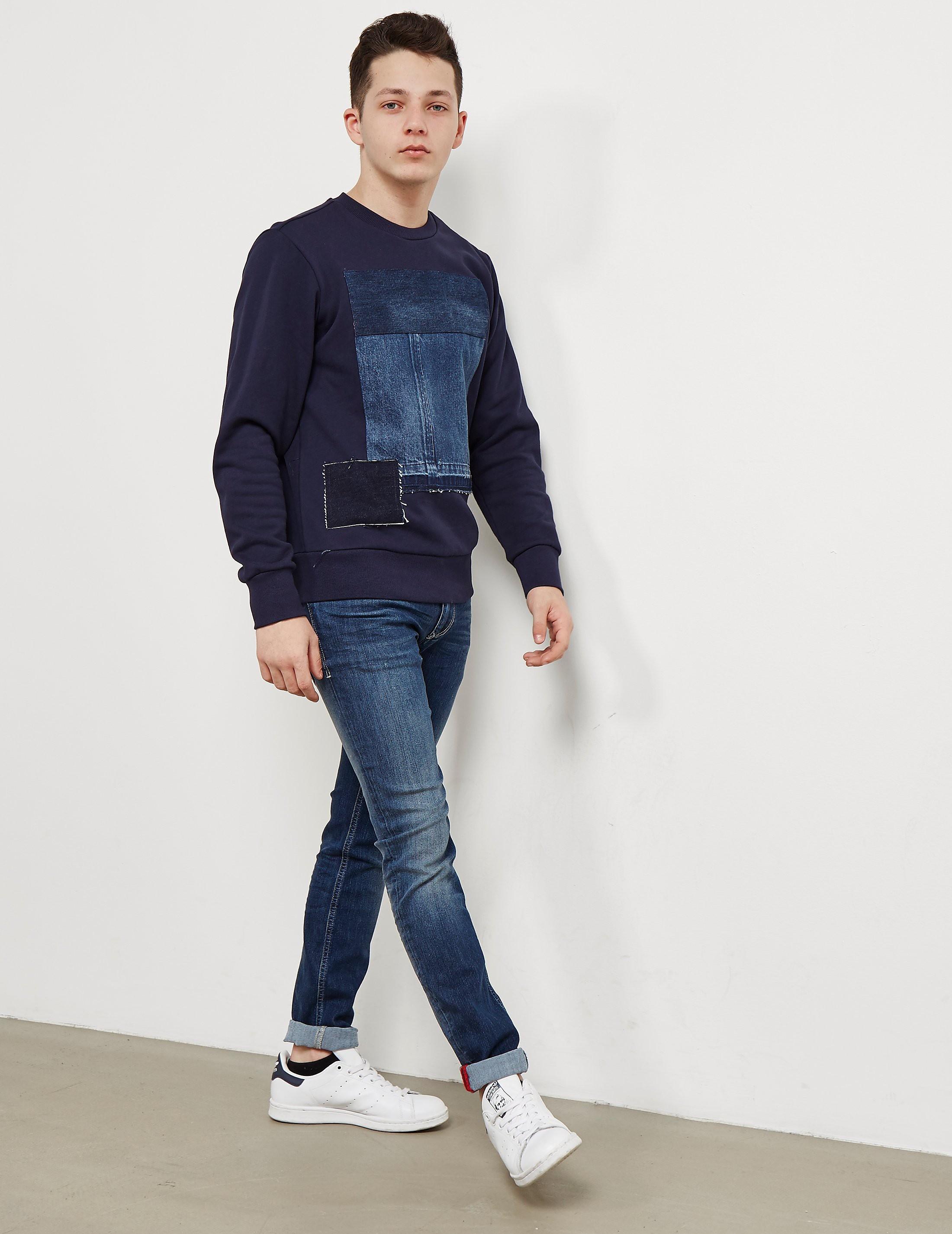 Diesel Patch Sweatshirt
