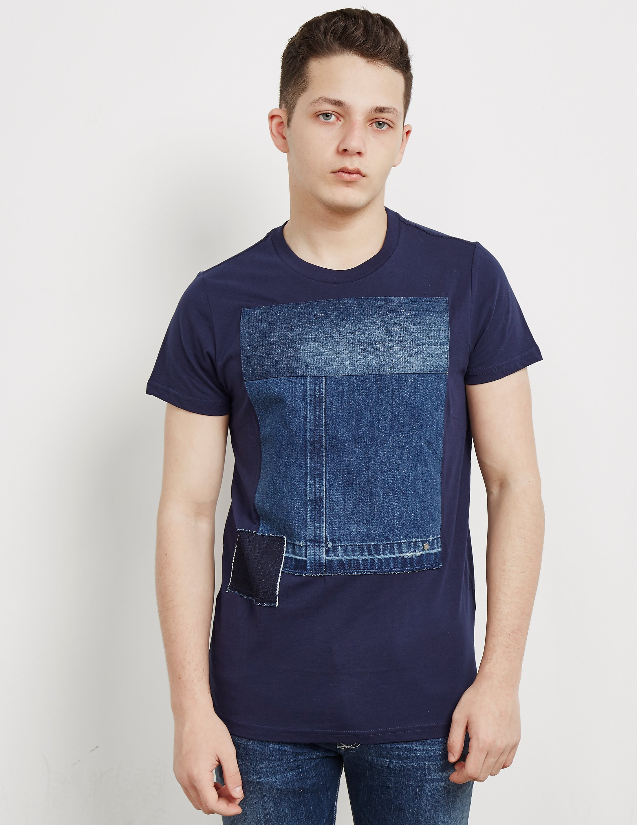 Diesel Patch Short Sleeve T-Shirt