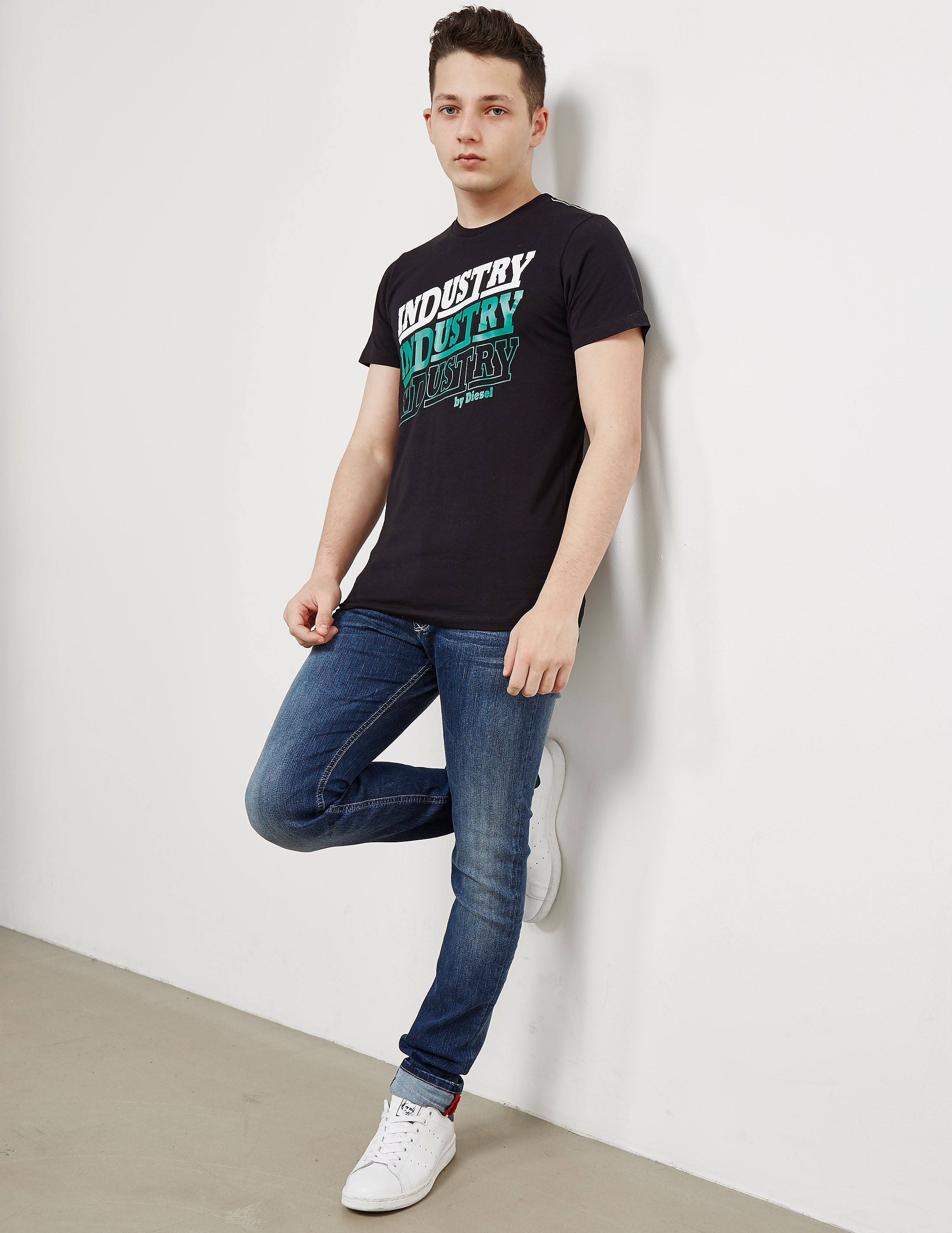 Diesel Industry Short Sleeve T-Shirt