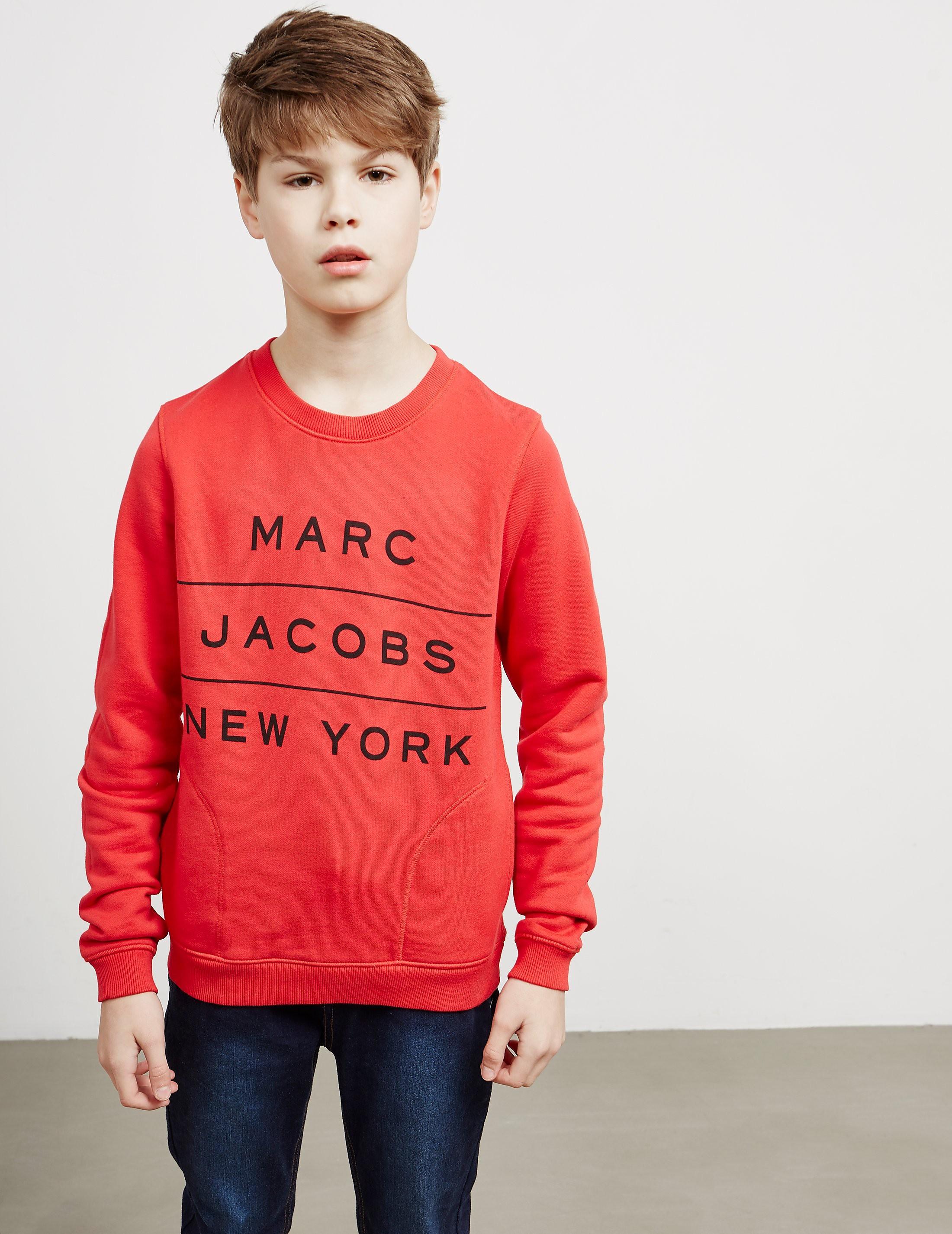 Little Marc Jacobs New York Logo Sweatshirt